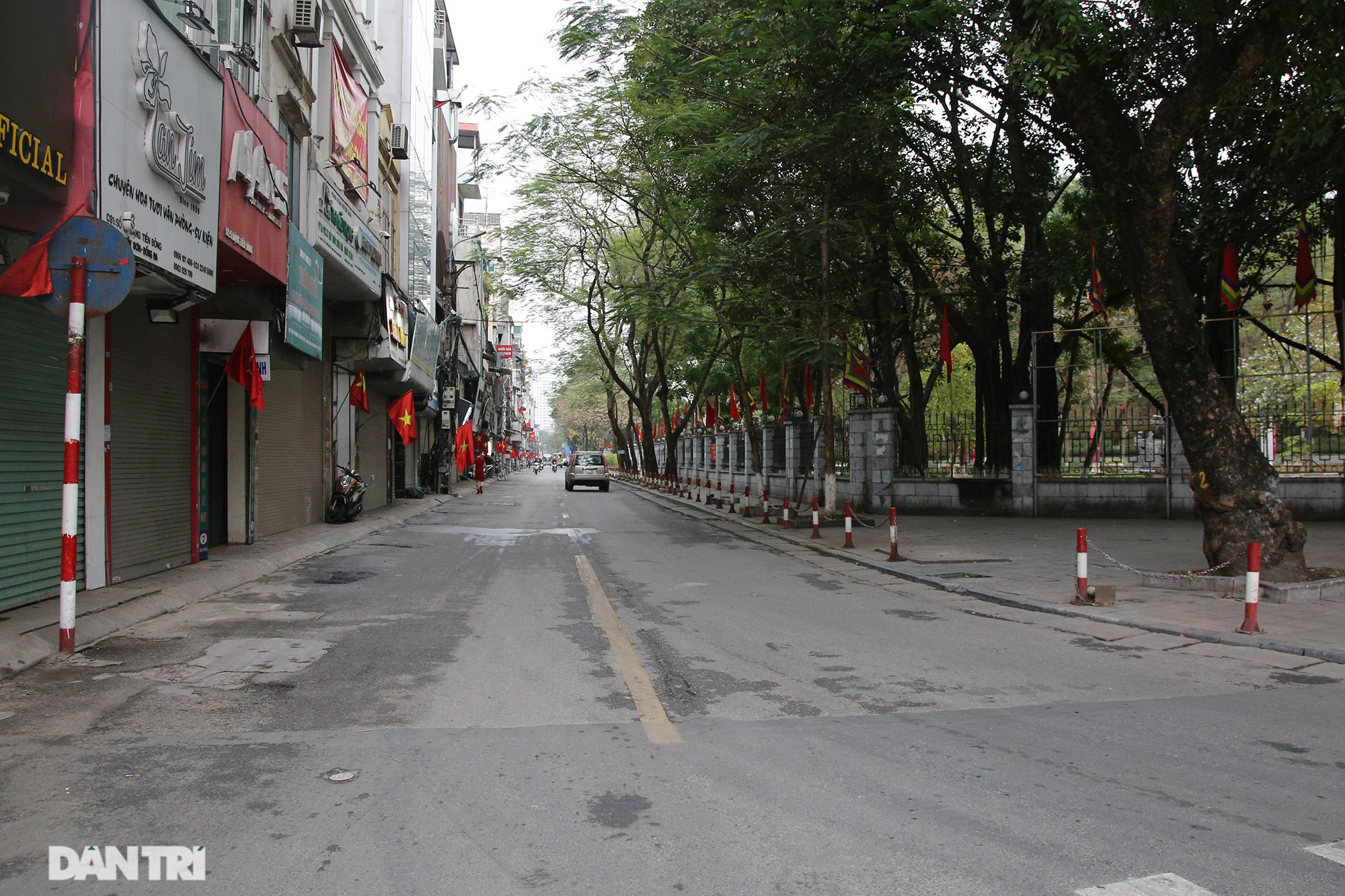 Quiet day of the Go Dong Da festival - 1