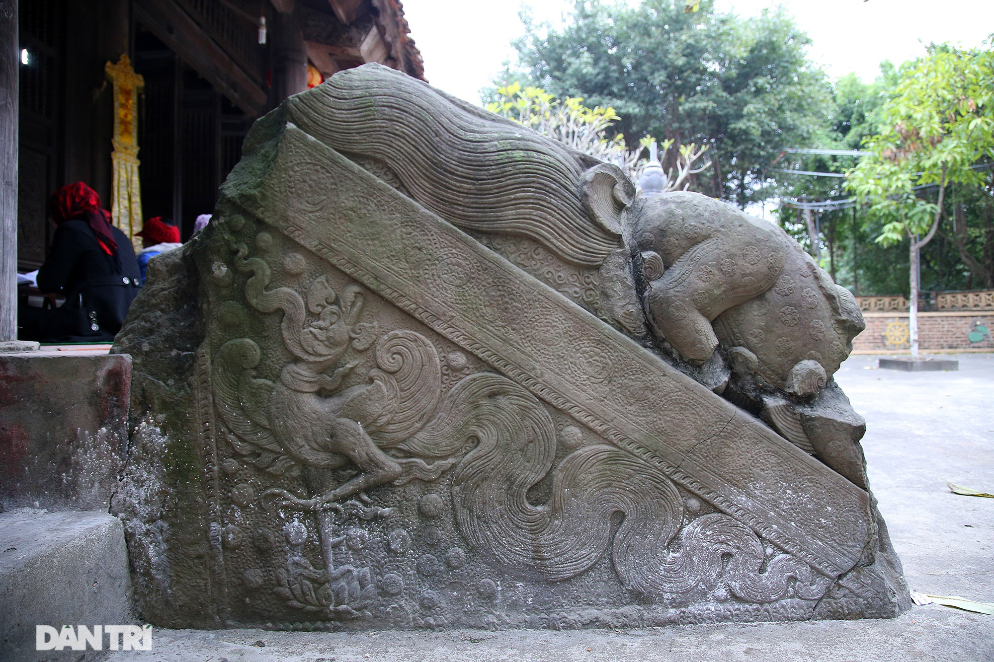 Heritage of massive stone sculpture at Huong Lang Pagoda - 9