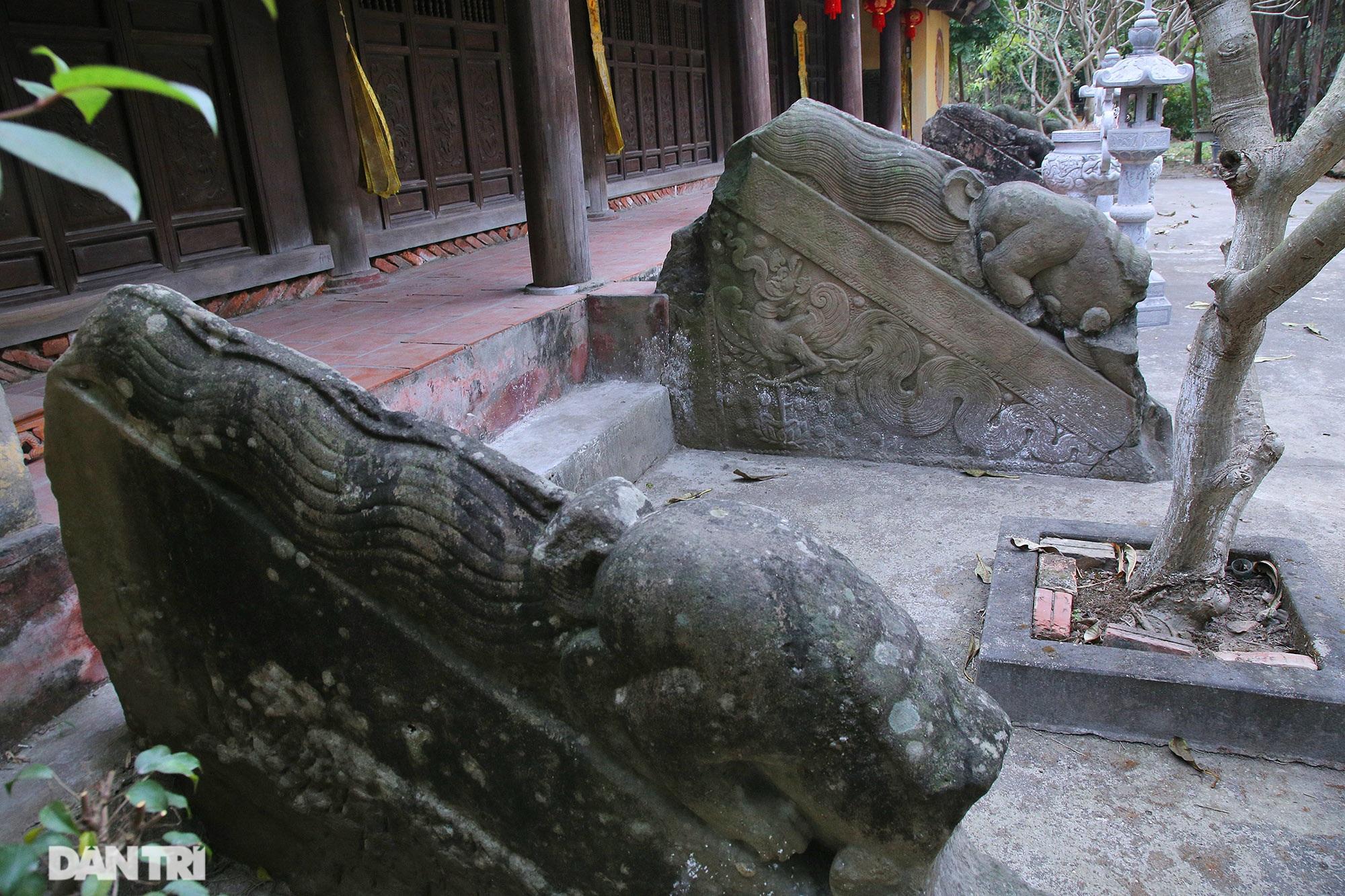 Heritage of massive stone sculpture at Huong Lang Pagoda - 2