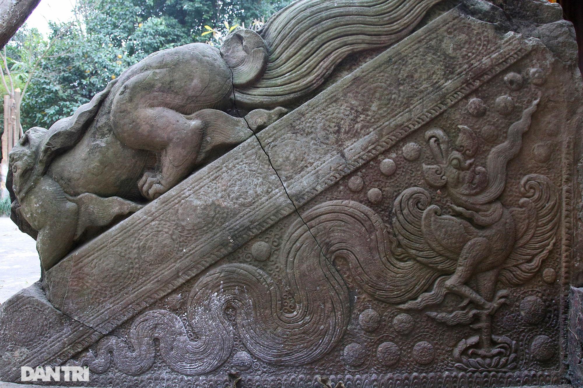 Heritage of massive stone sculpture at Huong Lang Pagoda - 3