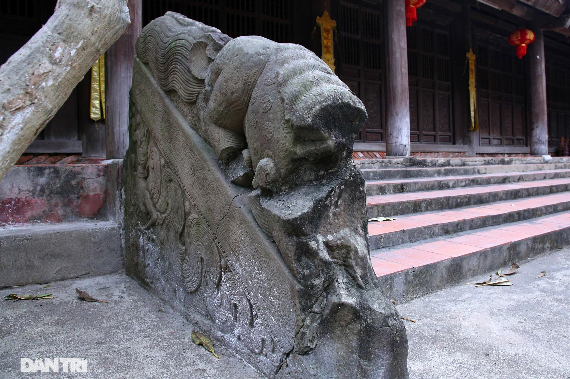 Heritage of massive stone sculpture at Huong Lang Pagoda - 7