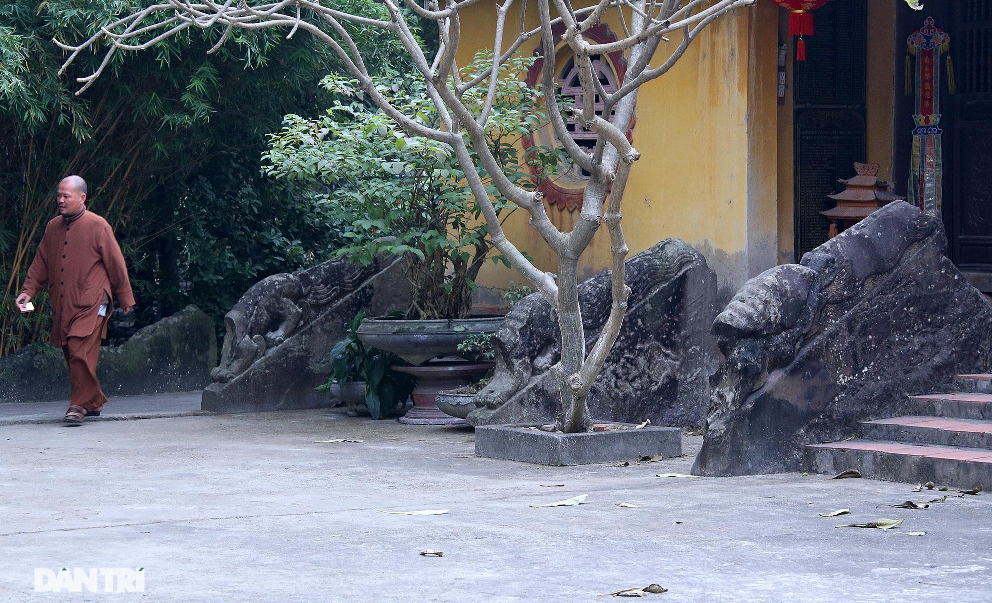 Heritage of massive stone sculpture at Huong Lang Pagoda - 8