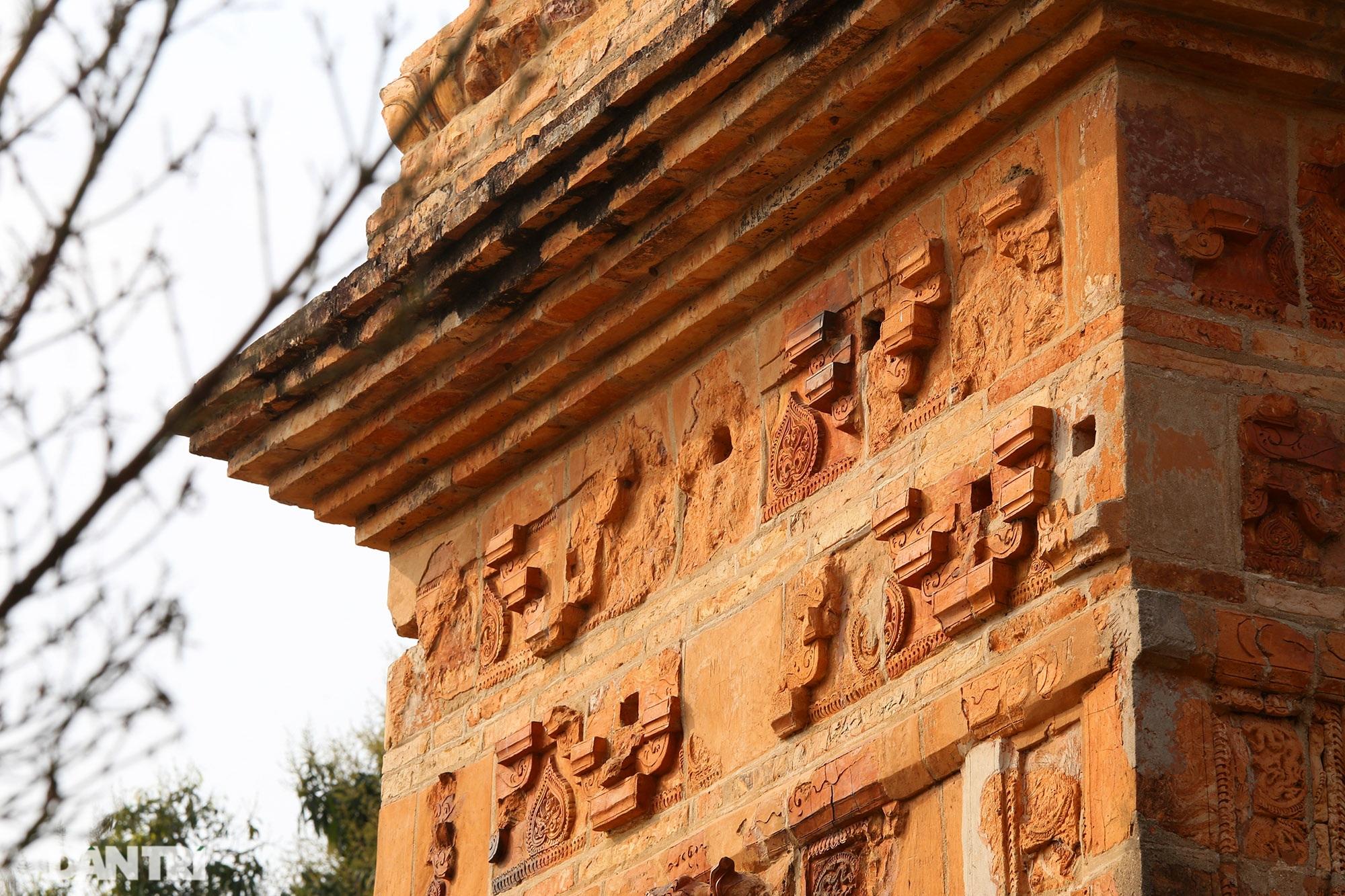 Tháp đất nung cao nhất Việt Nam thời Trần còn lại đến ngày nay - 12