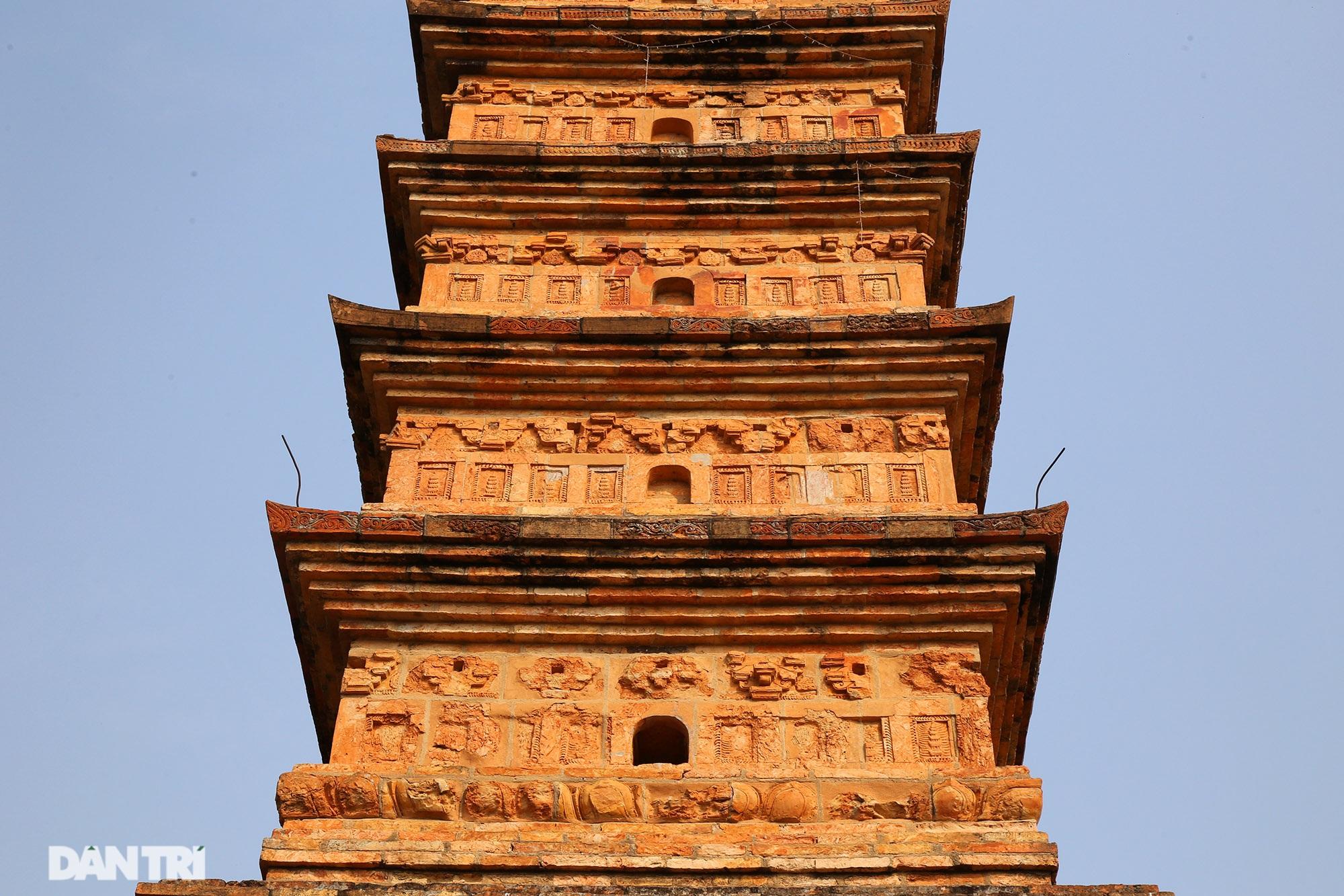 Tháp đất nung cao nhất Việt Nam thời Trần còn lại đến ngày nay - 4