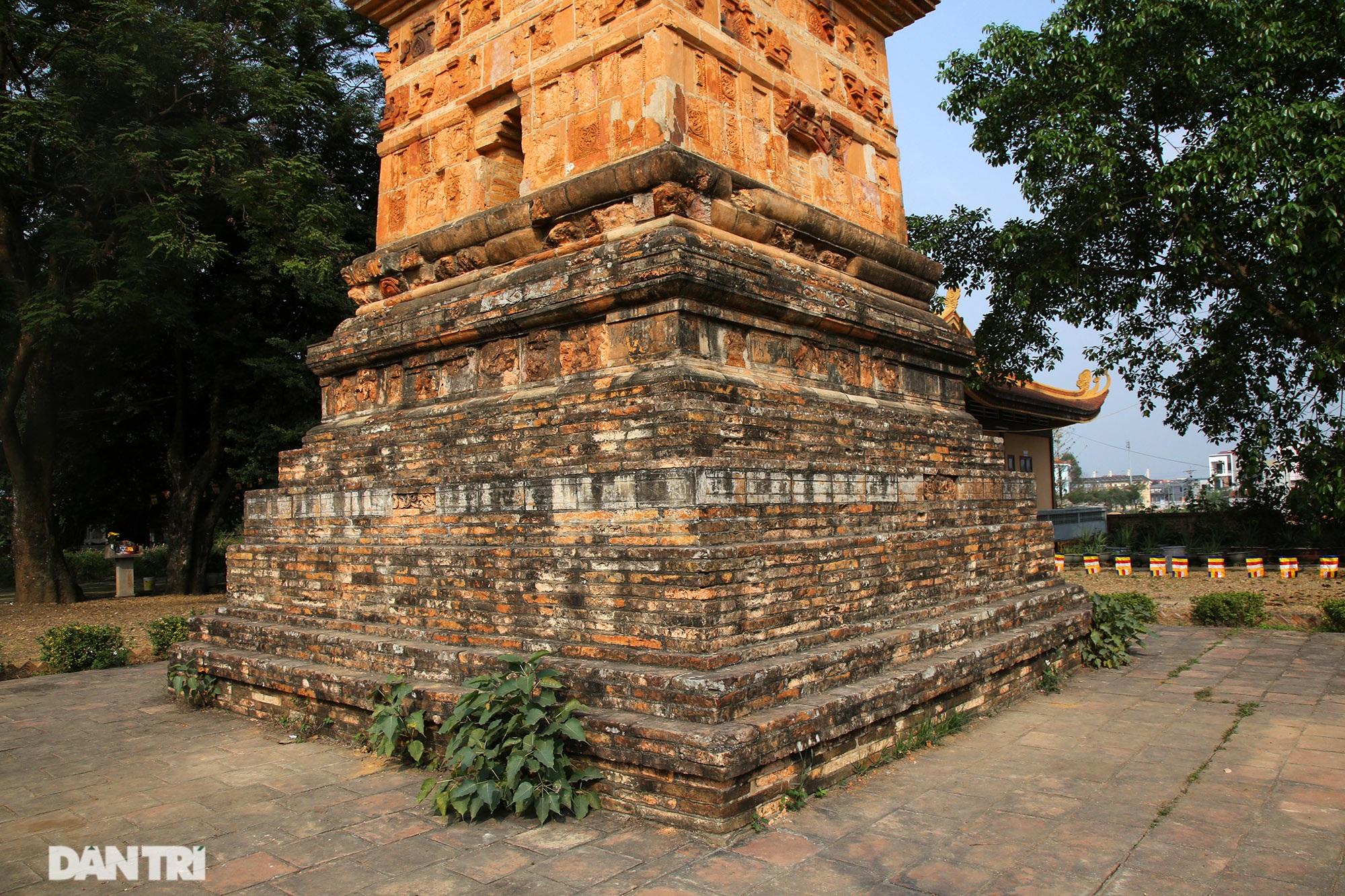 Tháp đất nung cao nhất Việt Nam thời Trần còn lại đến ngày nay - 5