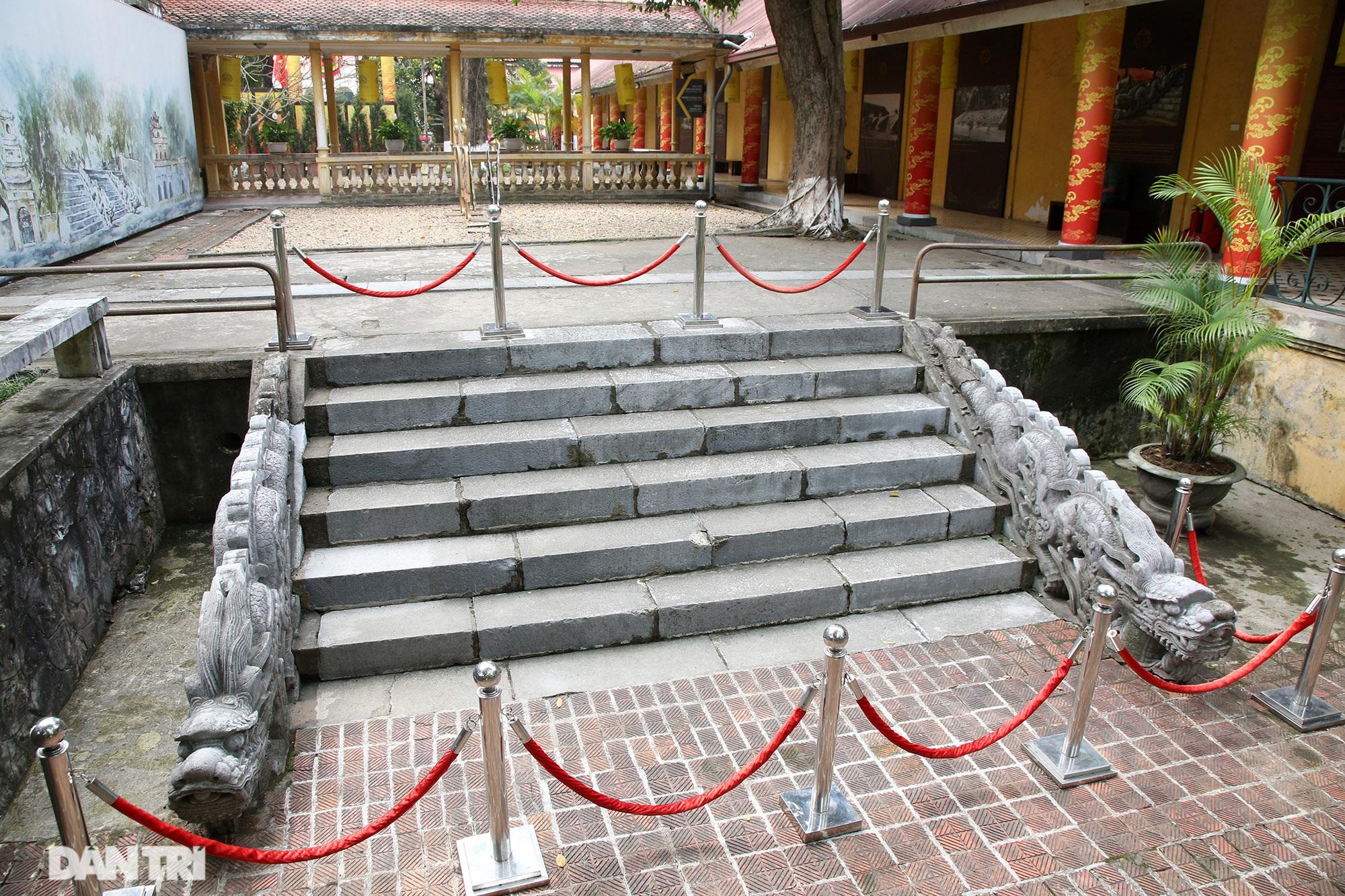Thành bậc đá điện Kính Thiên - tuyệt tác kiến trúc điêu khắc thời Lê sơ - 13