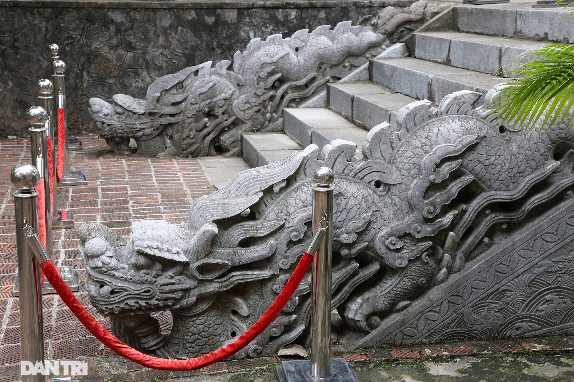Thành bậc đá điện Kính Thiên - tuyệt tác kiến trúc điêu khắc thời Lê sơ - 14
