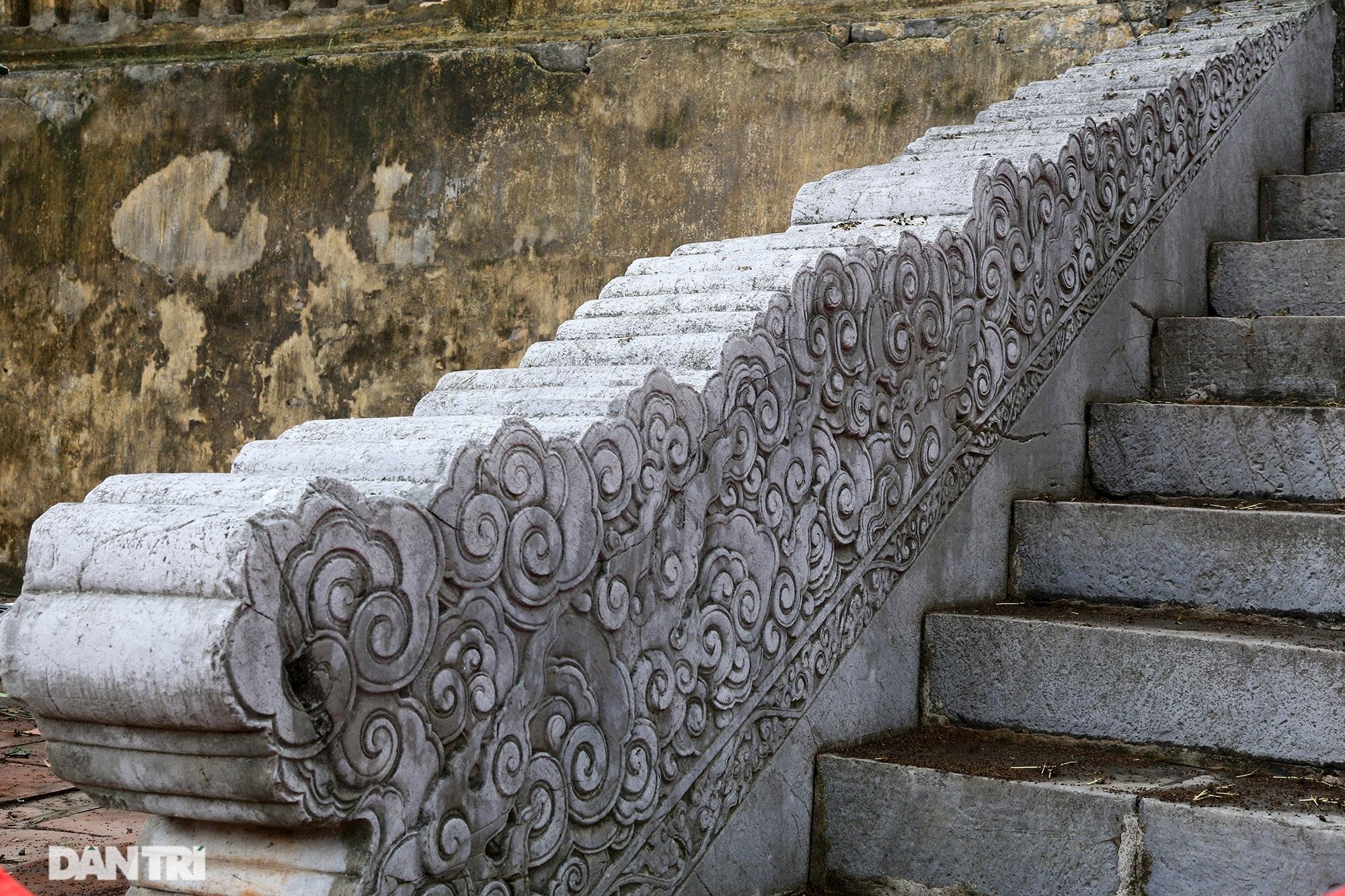 Thành bậc đá điện Kính Thiên - tuyệt tác kiến trúc điêu khắc thời Lê sơ - 4
