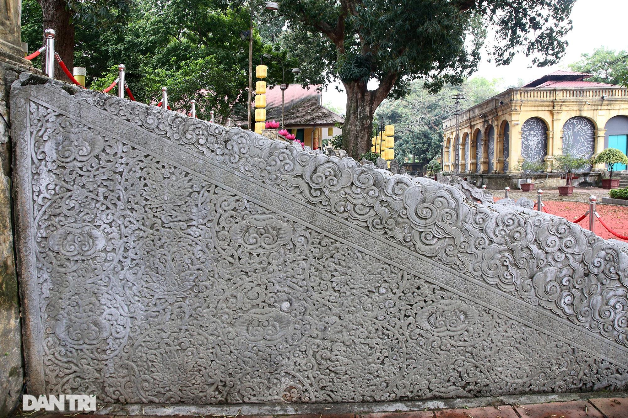 Thành bậc đá điện Kính Thiên - tuyệt tác kiến trúc điêu khắc thời Lê sơ - 6