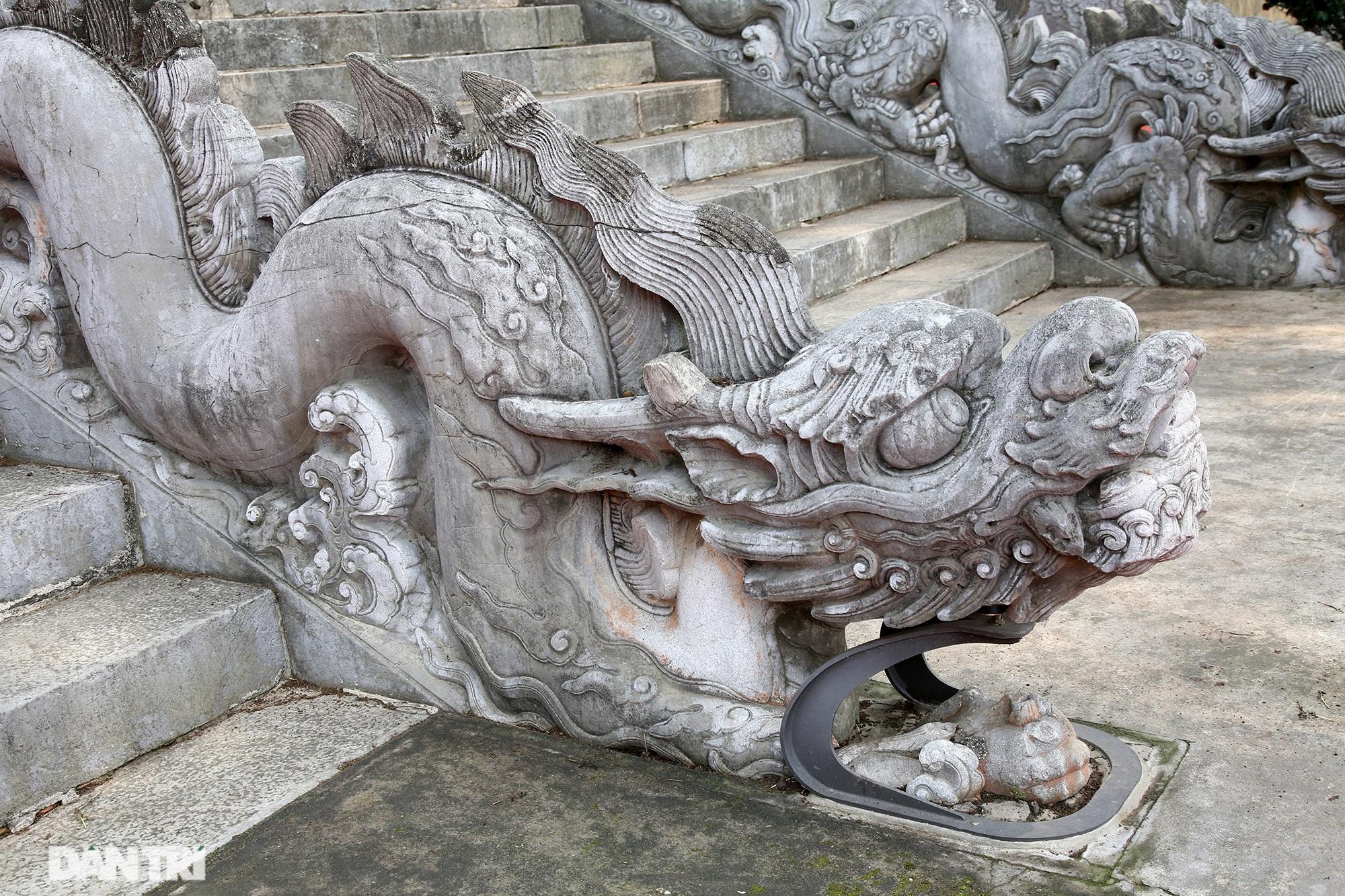 Thành bậc đá điện Kính Thiên - tuyệt tác kiến trúc điêu khắc thời Lê sơ - 8