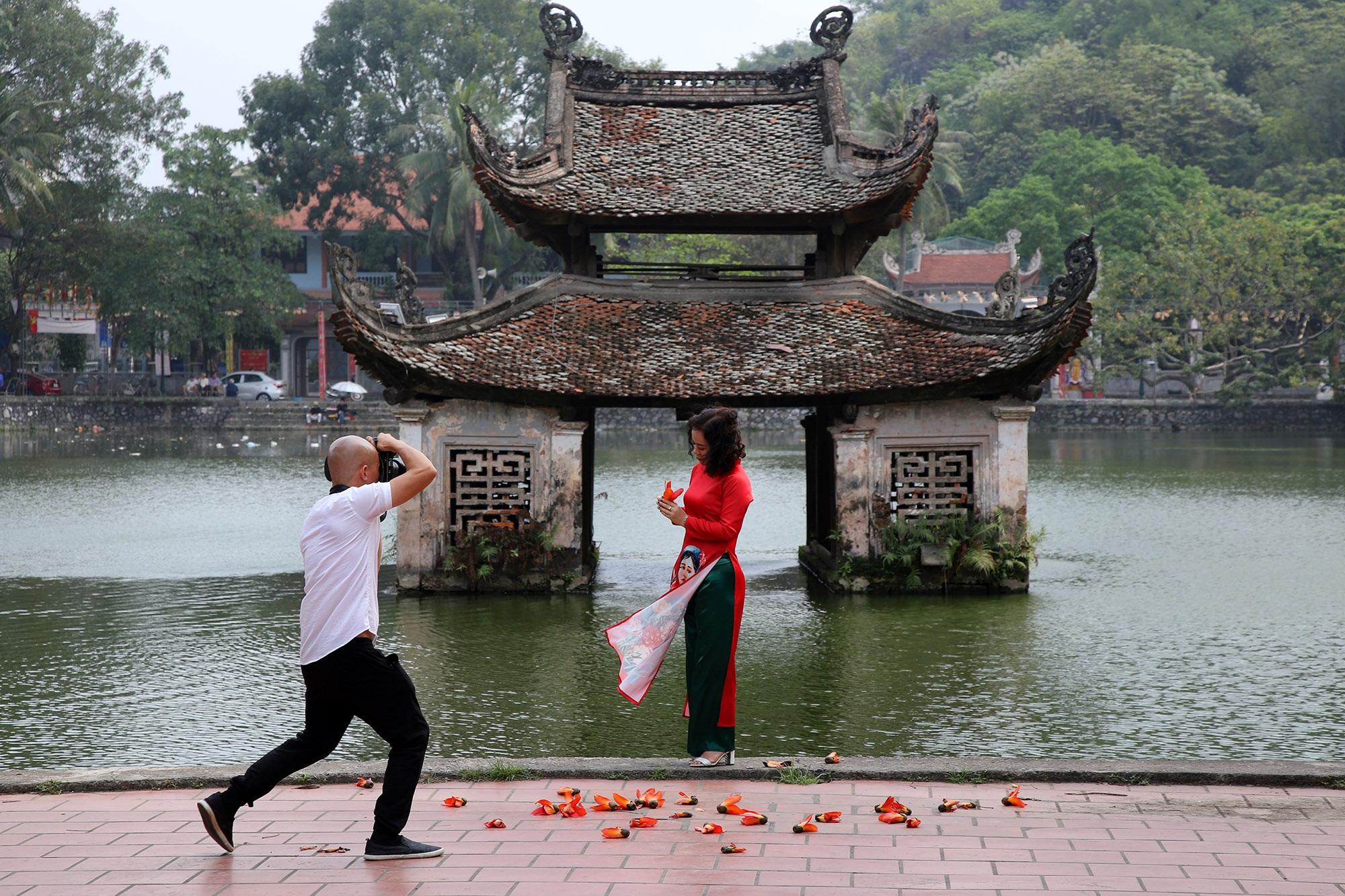 Hoa gạo nở đẹp sâu lắng vùng ngoại thành Hà Nội - 15