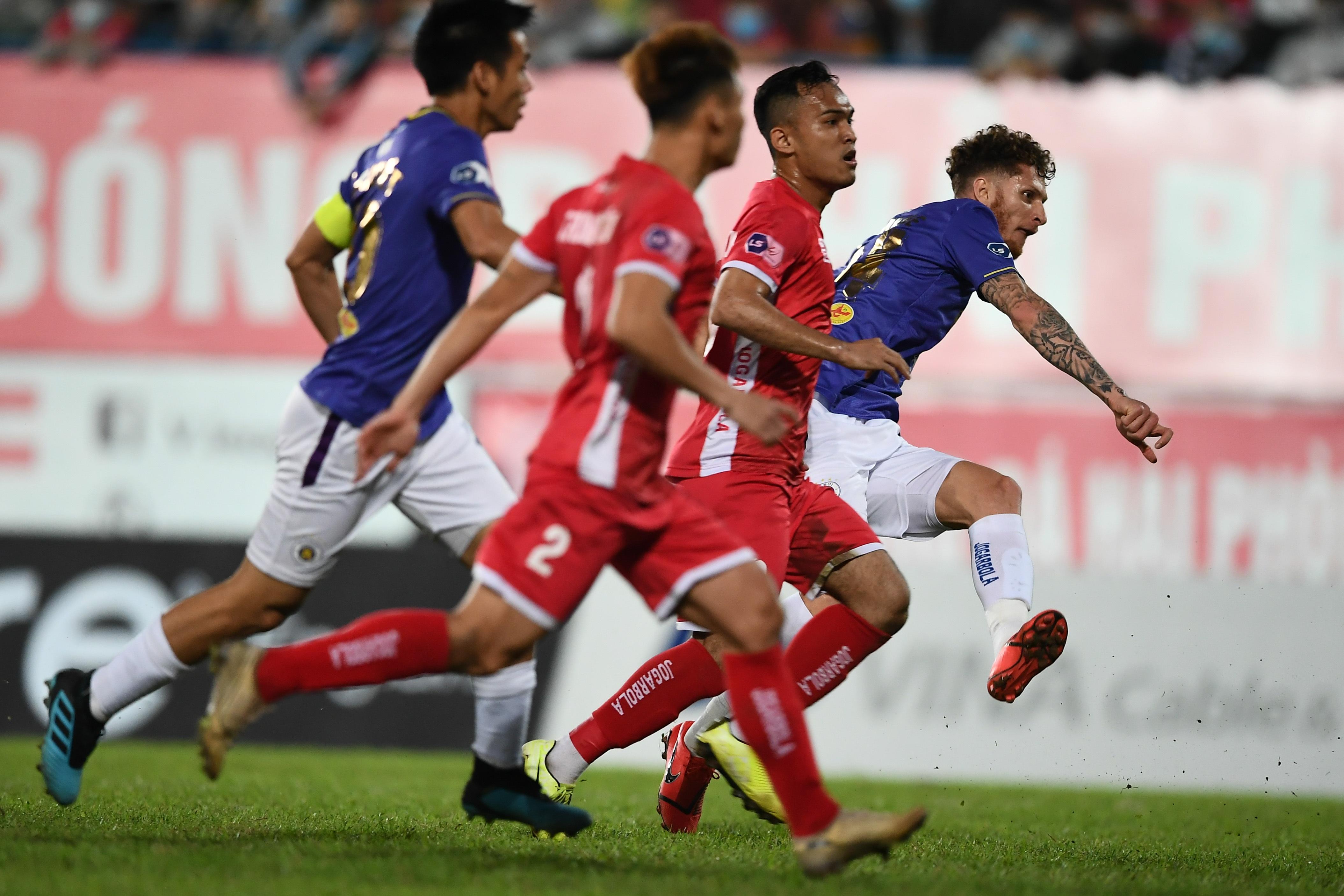 Người hùng Tấn Trường giúp CLB Hà Nội có 3 điểm đầu tiên ở V-League - 8