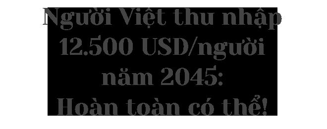 Người Việt thu nhập trên 12.500 USD năm 2045: Hoàn toàn có thể! - 1