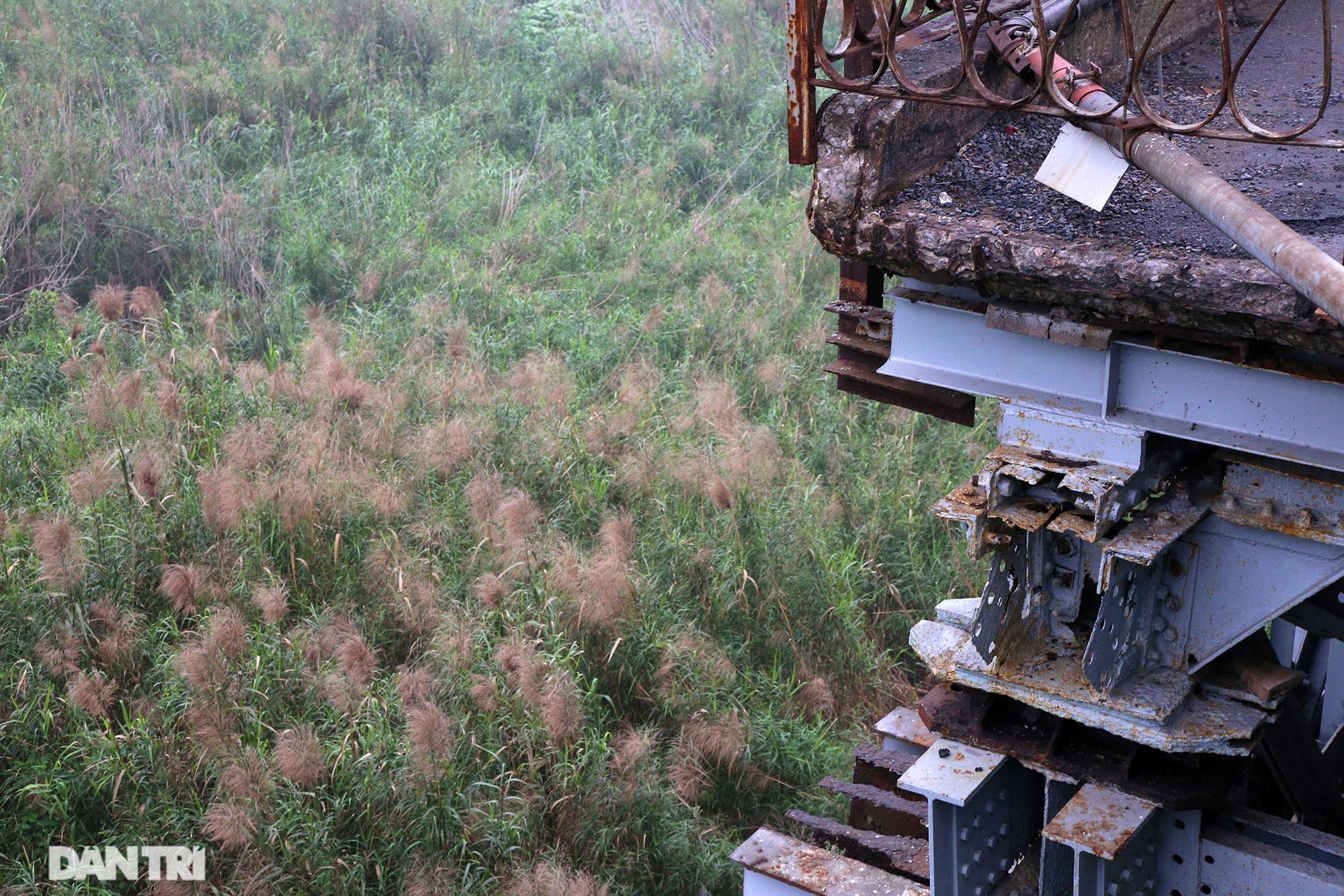 Cầu Long Biên như bị bỏ rơi, gỉ sét xuống cấp nghiêm trọng - 12