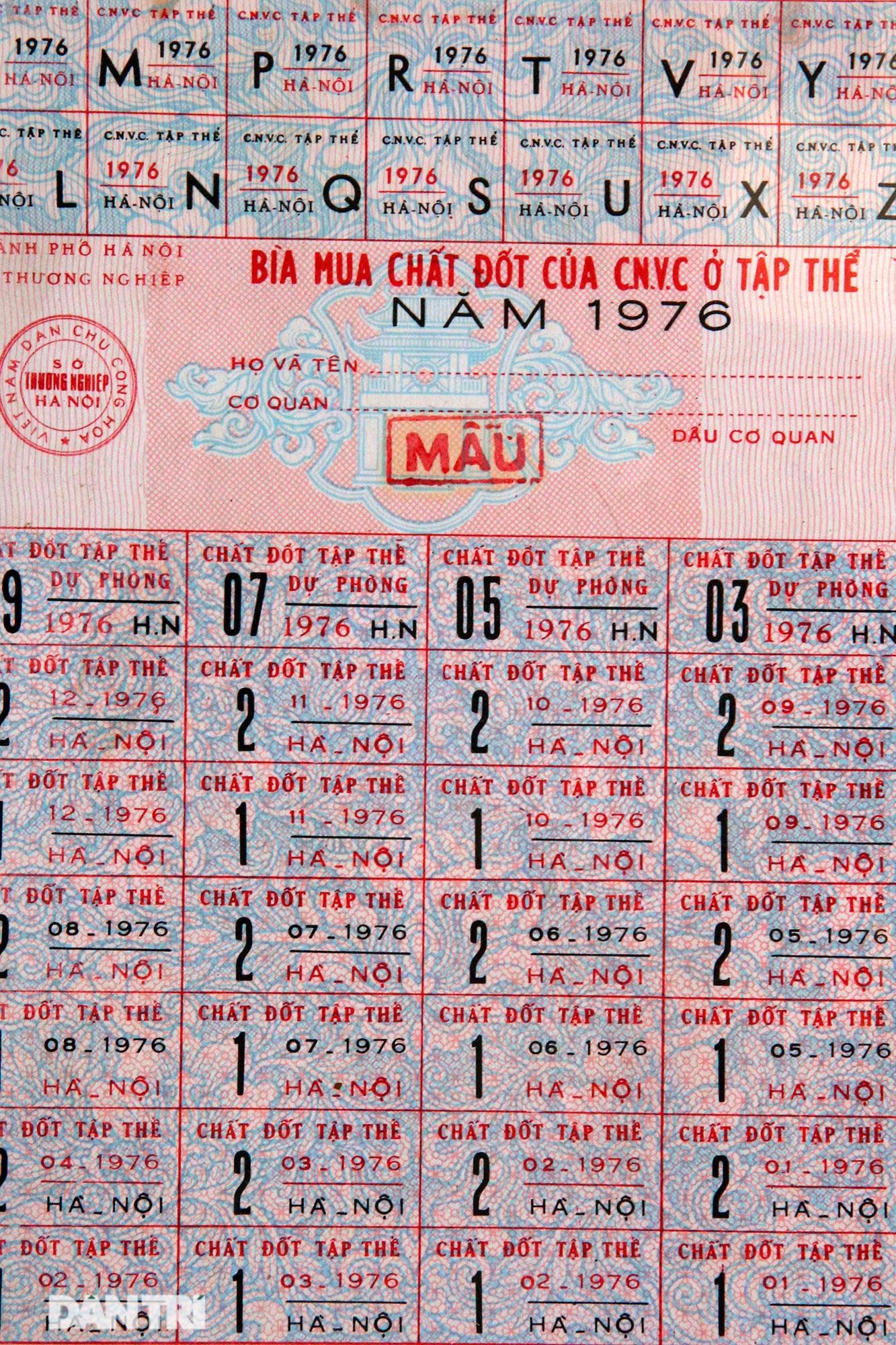 Ký ức gian khó qua bộ sưu tập tem phiếu, sổ gạo thời bao cấp - 14