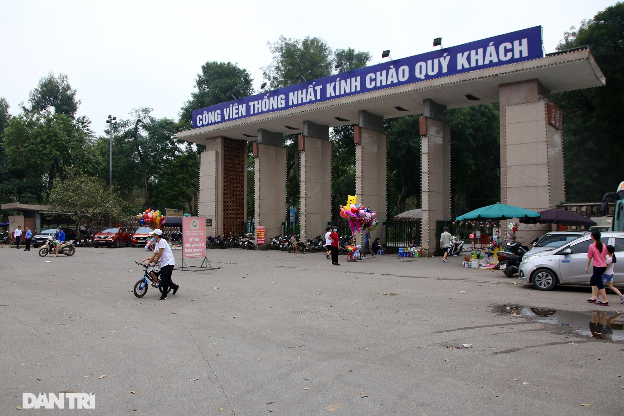 Những điều ít biết về Công viên rộng lớn nhất Hà Nội sắp tròn 60 năm tuổi - 1