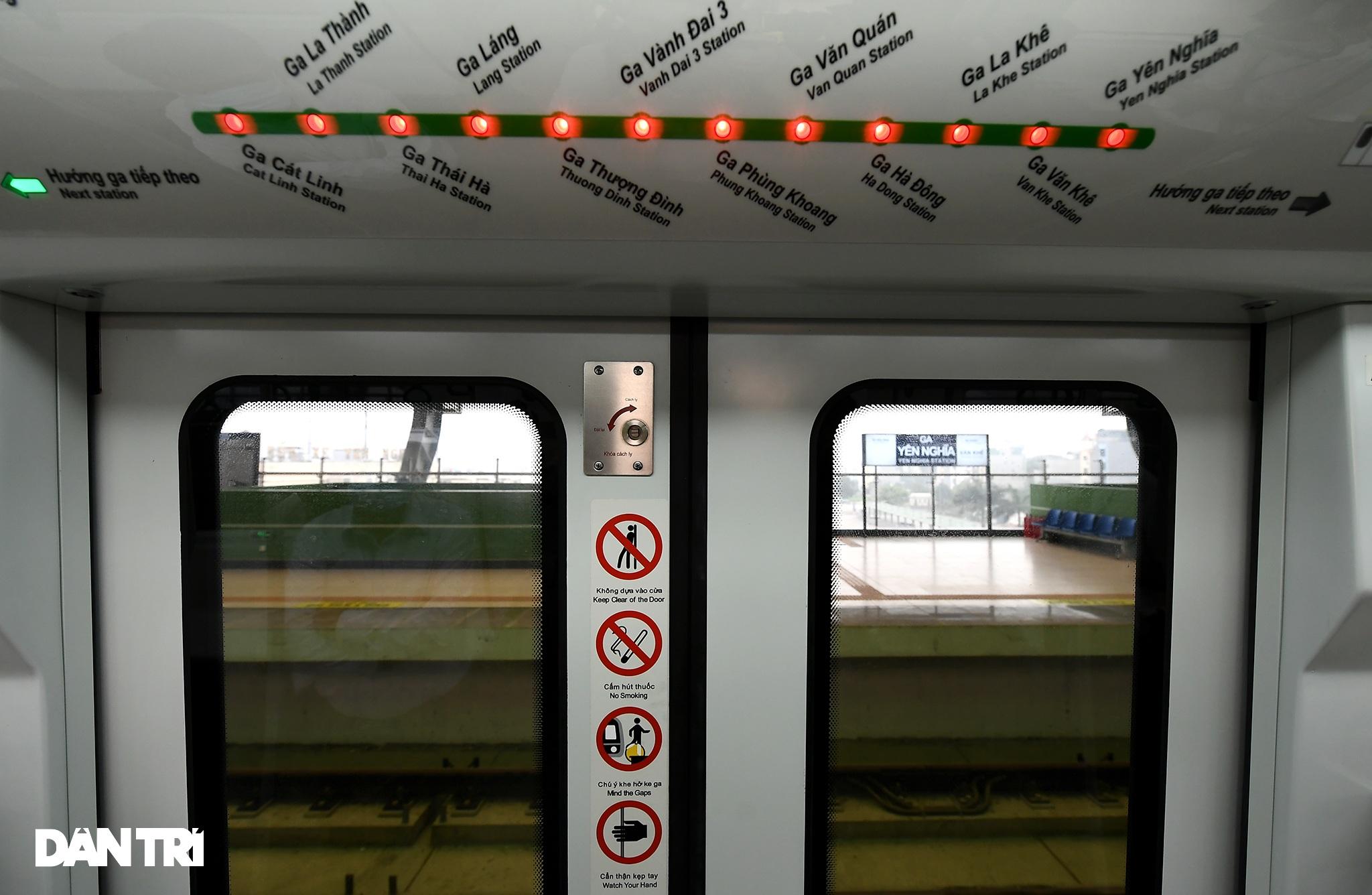 Toàn cảnh đường sắt Cát Linh - Hà Đông trong ngày chuyển giao đầu tiên - 21