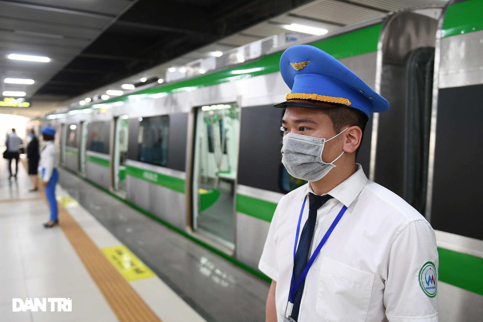 Toàn cảnh đường sắt Cát Linh - Hà Đông trong ngày chuyển giao đầu tiên - 13