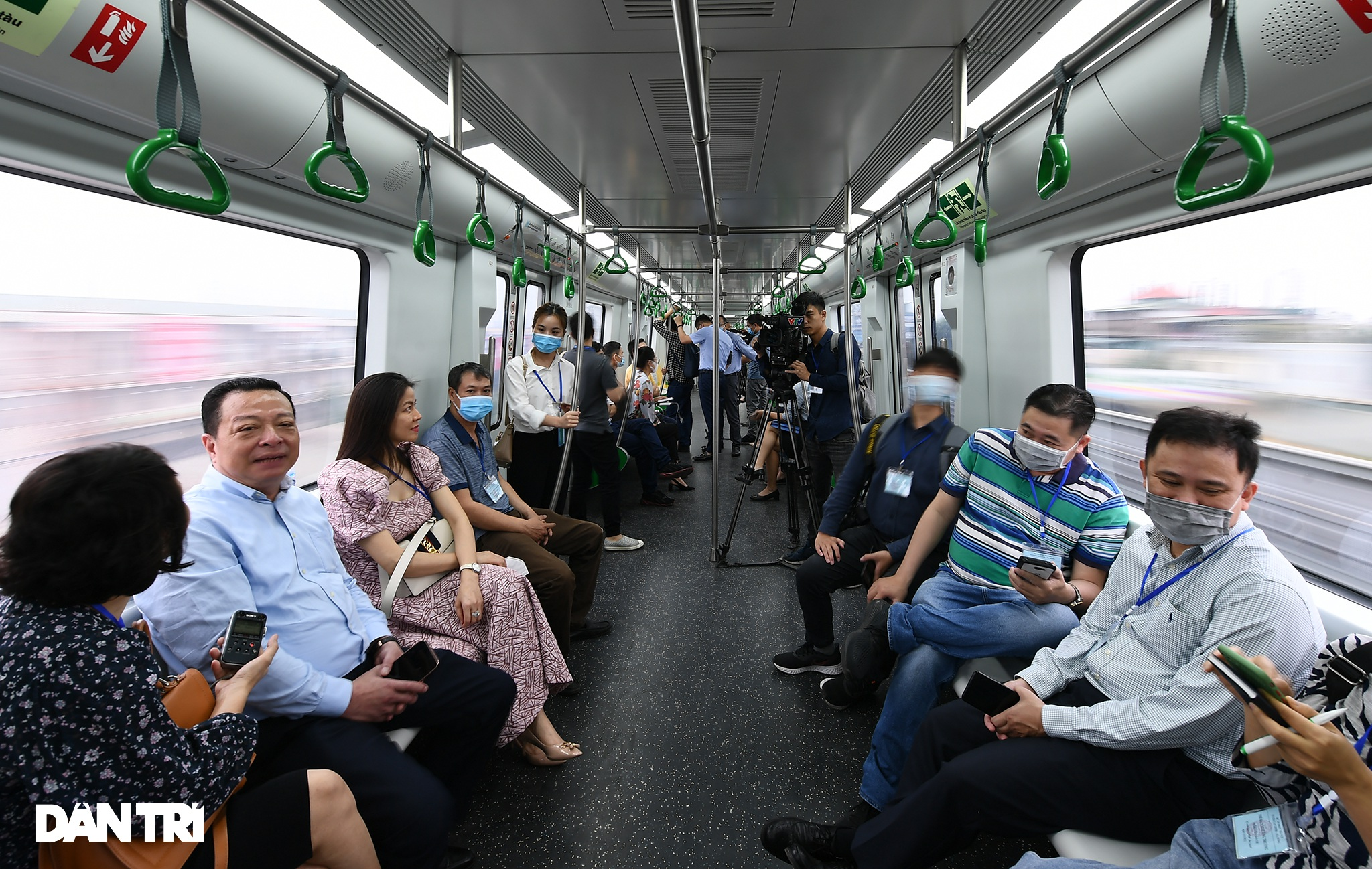 Toàn cảnh đường sắt Cát Linh - Hà Đông trong ngày chuyển giao đầu tiên - 22