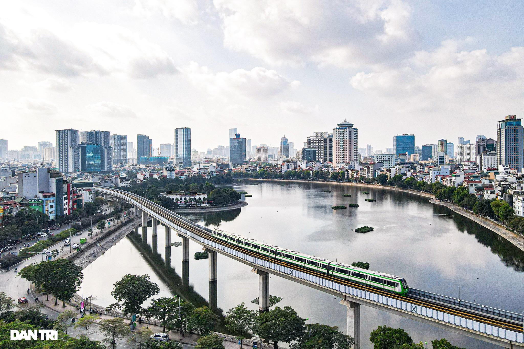 Toàn cảnh đường sắt Cát Linh - Hà Đông trong ngày chuyển giao đầu tiên - 1
