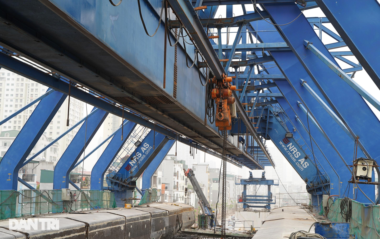 Cận cảnh đại công trường xây dựng đường vành đai 2 gần 10.000 tỷ đồng - 5