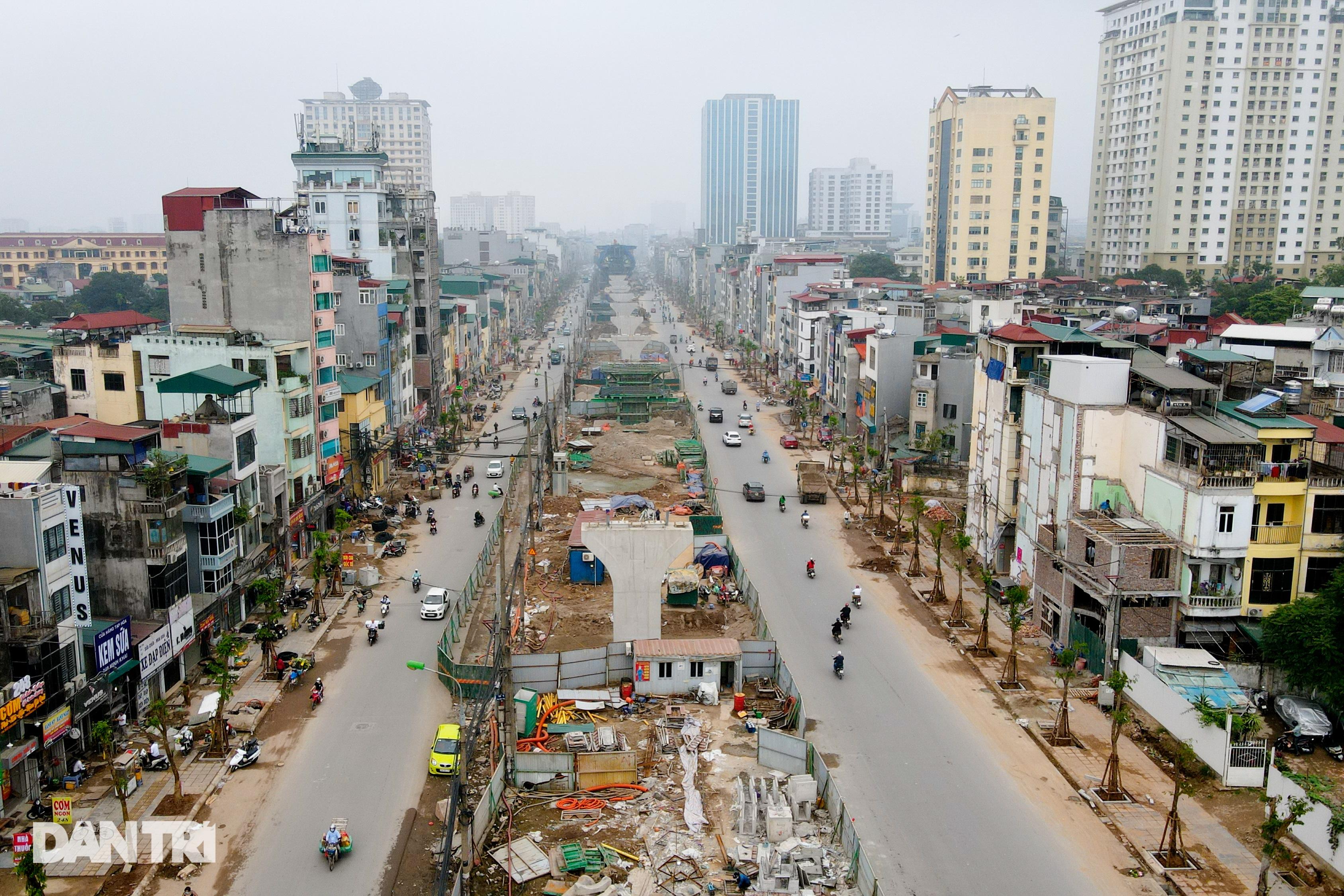 Cận cảnh đại công trường xây dựng đường vành đai 2 gần 10.000 tỷ đồng - 10