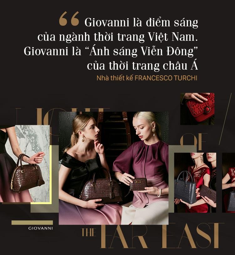 Hành trình ÁNH SÁNG VIỄN ĐÔNG của bậc thầy da giày thế giới cập bến thương hiệu thời trang GIOVANNI - 19