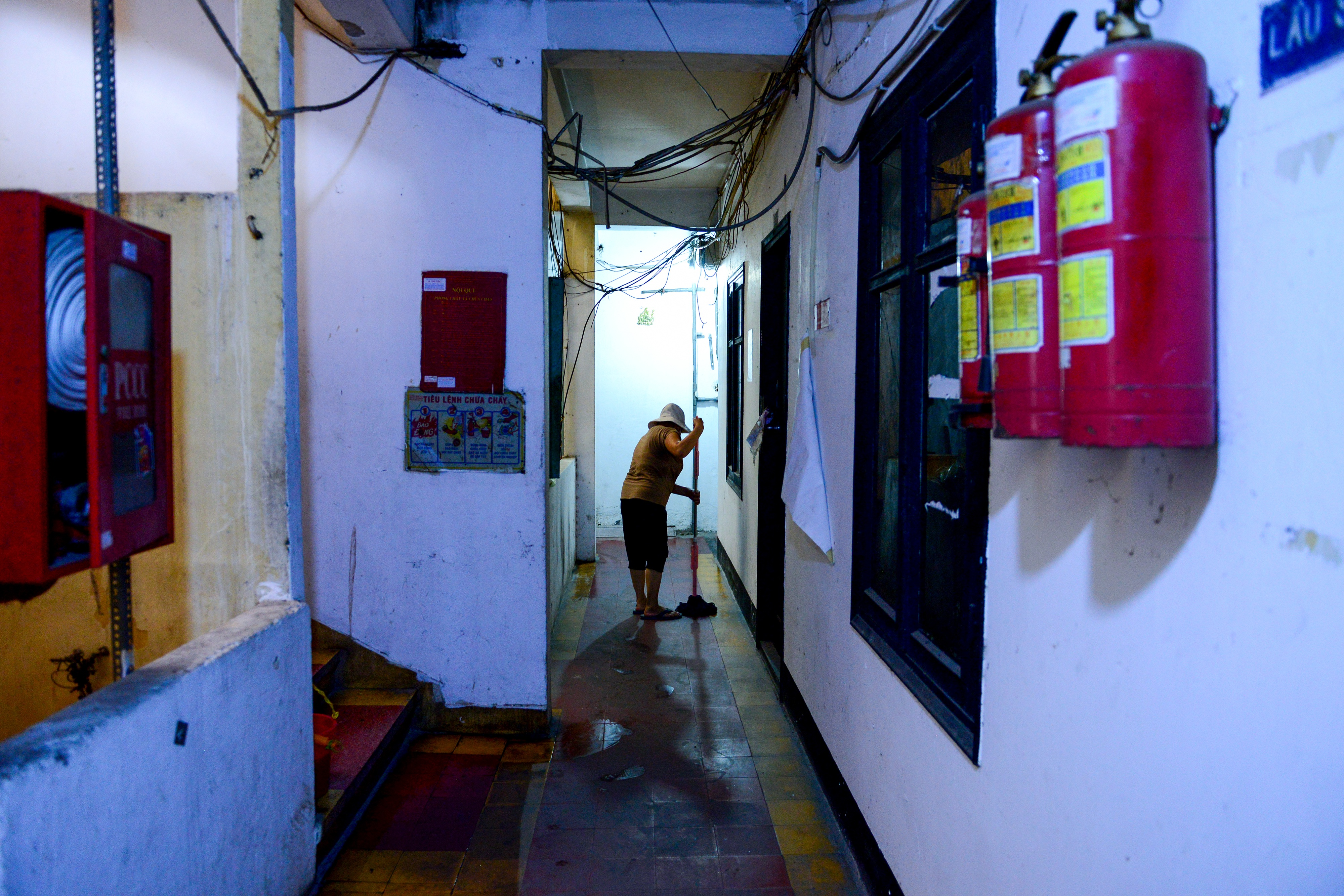 Lạ kỳ chung cư giữa trung tâm Sài Gòn chỉ có 5 gia đình sinh sống - 15