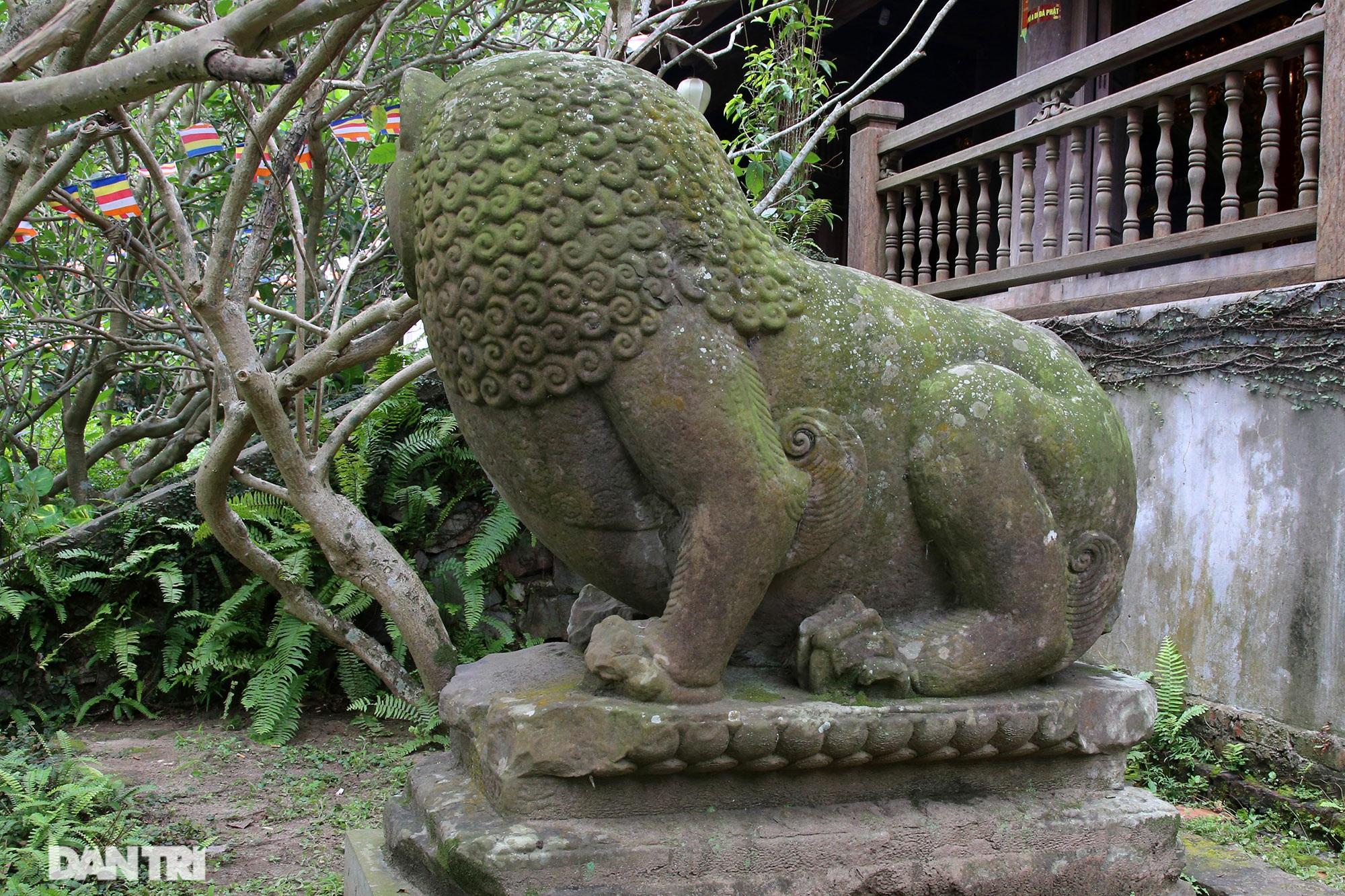 Strangely 10 thousand year old stone summoned beasts guard Buddha Tich Pagoda - 13