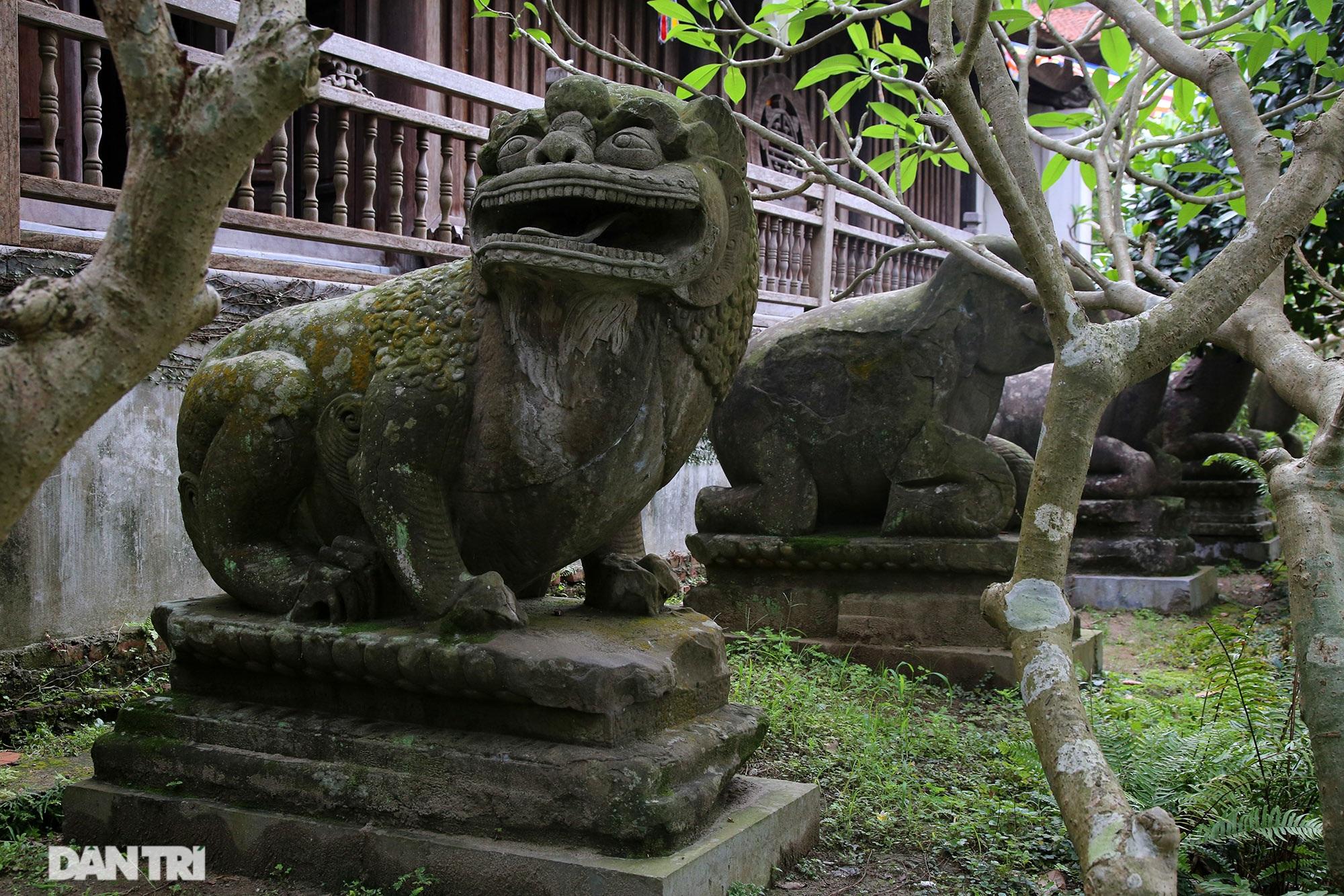 Strangely 10 thousand year old stone summoned beasts guard Buddha Tich Pagoda - 4