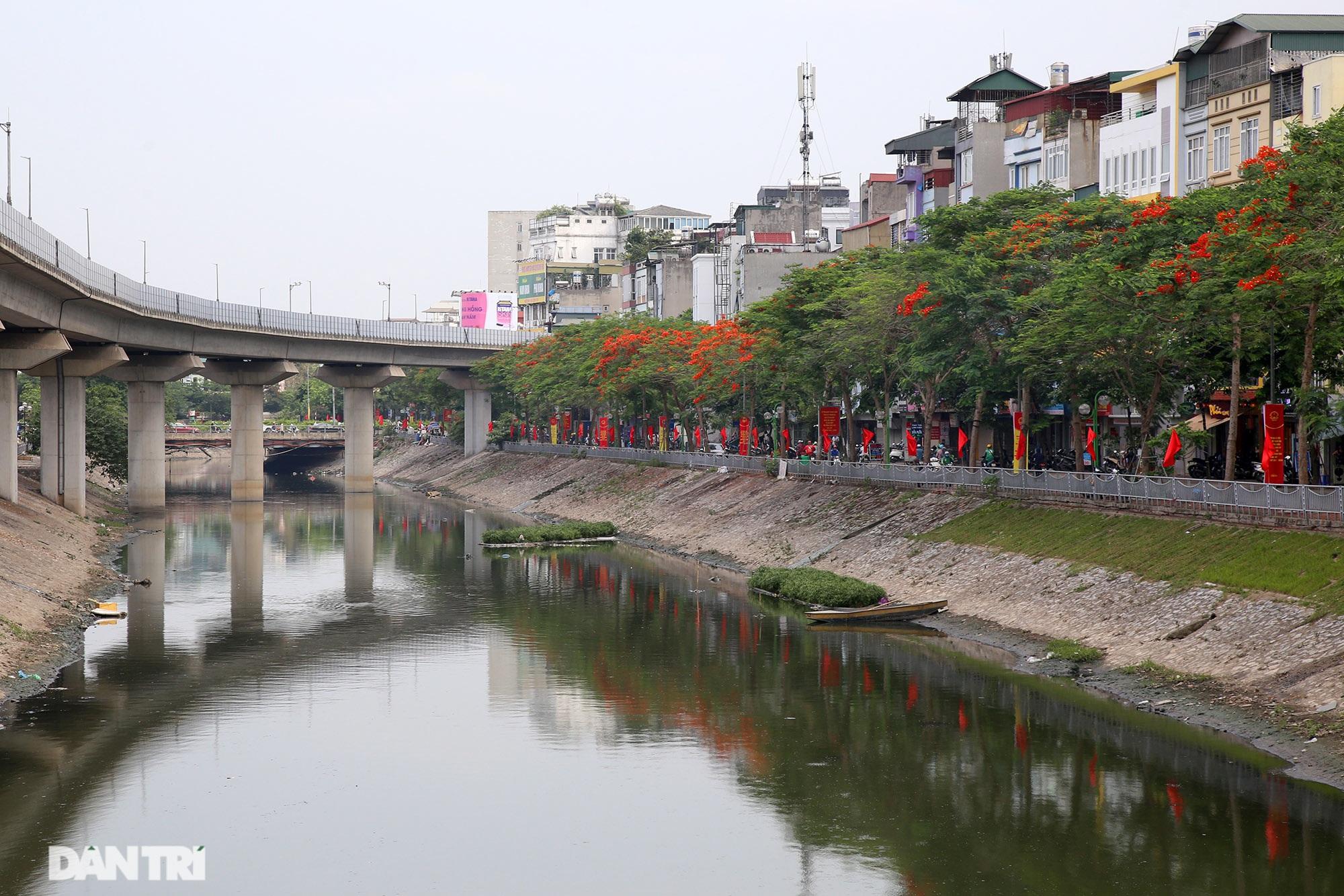 Mùa hoa phượng vĩ bắt đầu nở đẹp khắp phố phường Hà Nội - 14