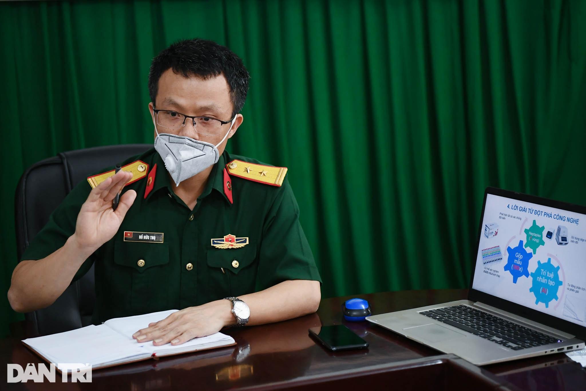 Cận cảnh khu xét nghiệm lớn nhất Việt Nam, cao điểm xử lý 20.000 mẫu/ngày - 2
