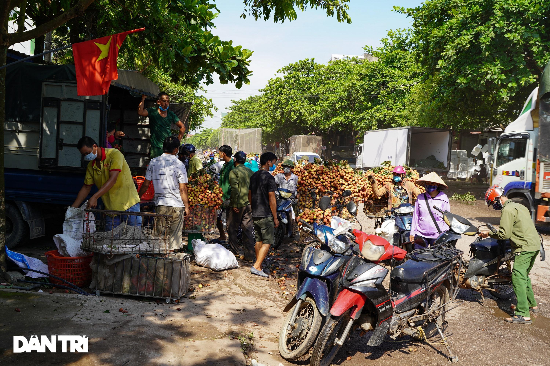 Bắc Giang: Nông dân kêu trời vì giá vải thiều lên xuống thất thường