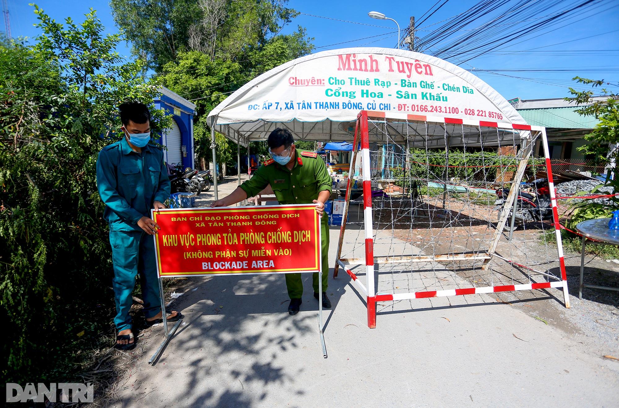 Phong tỏa ổ dịch có 16 ca nhiễm SARS-CoV-2 trong khu hơn 1.000 dân ở Củ Chi - 5