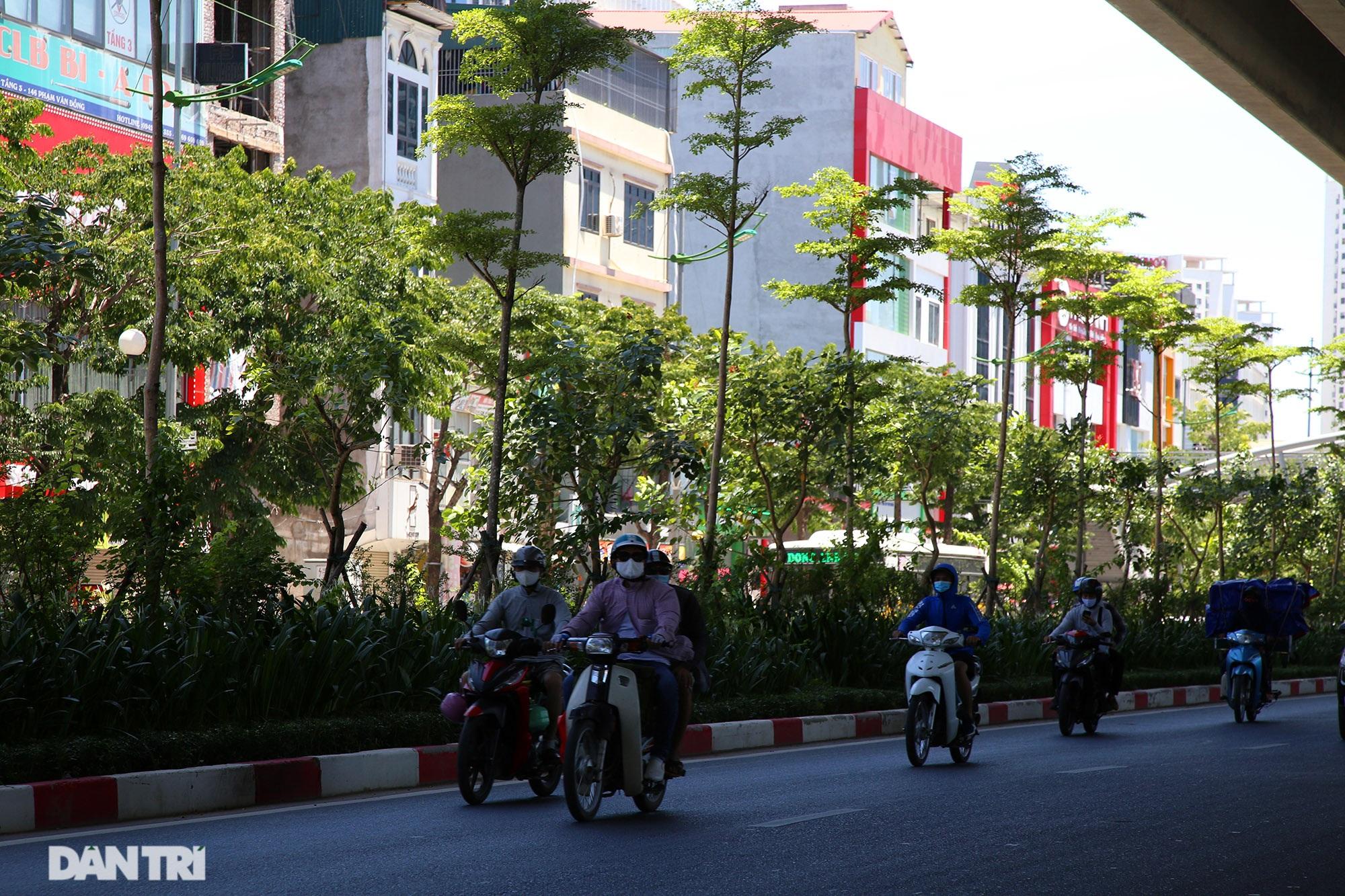 Con đường mát mẻ dài nhất Hà Nội giữa những ngày nắng nóng đỉnh điểm - 11