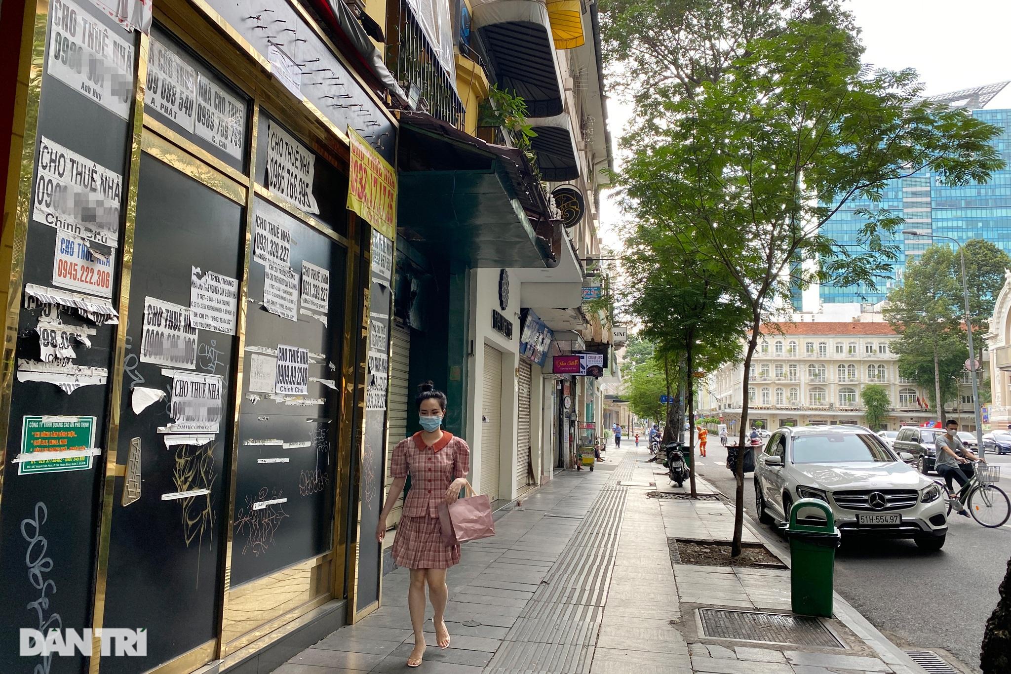 Tràn ngập biển cho thuê, bán nhà trên các tuyến phố trung tâm Sài Gòn - 7