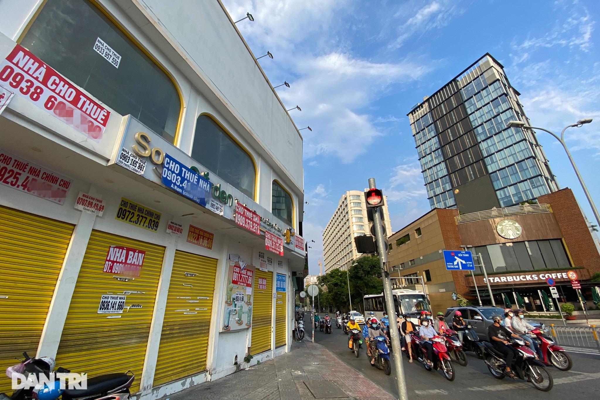 Tràn ngập biển cho thuê, bán nhà trên các tuyến phố trung tâm Sài Gòn - 17