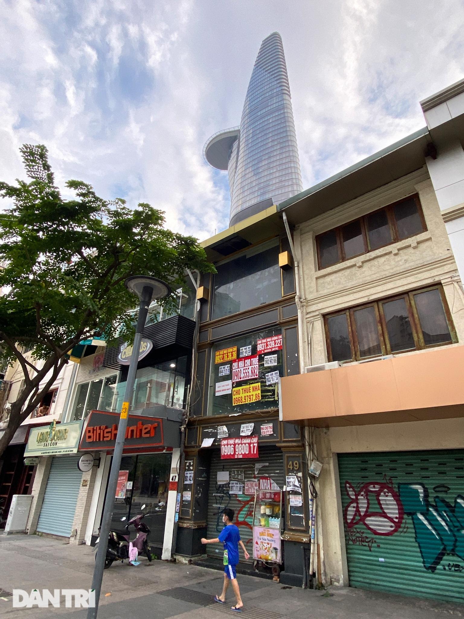 Tràn ngập biển cho thuê, bán nhà trên các tuyến phố trung tâm Sài Gòn - 6