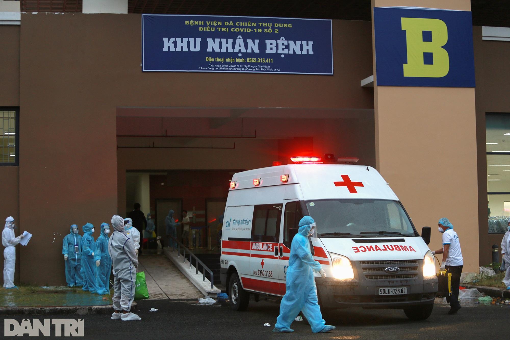Cận cảnh 3 khu chung cư ở TPHCM được trưng dụng làm bệnh viện dã chiến - 11