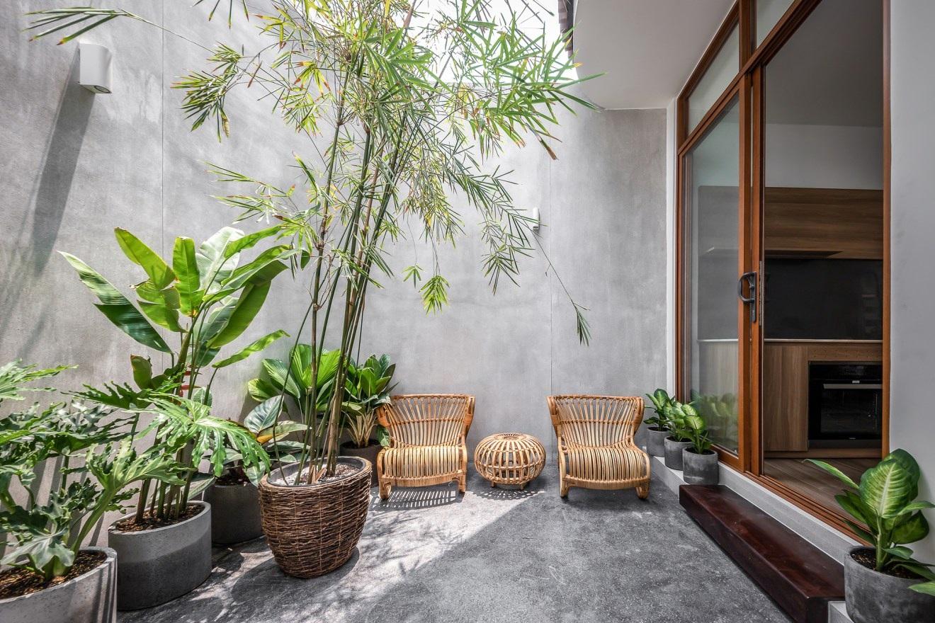 Nhà phố chỉ 48 m2 tuyệt đẹp của chàng trai độc thân ở Sài Gòn - 2