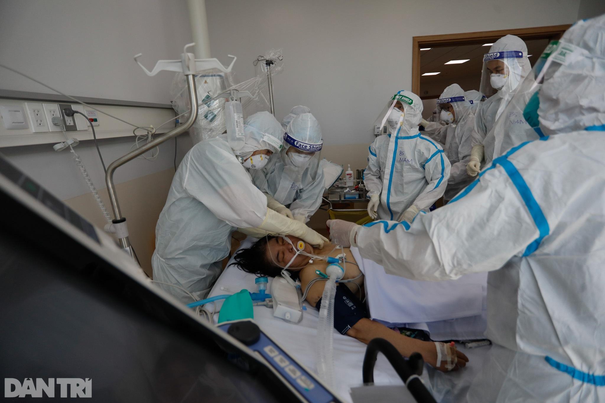 Bên trong Bệnh viện Hồi sức Covid-19 quy mô 1.000 giường ở TPHCM - 4