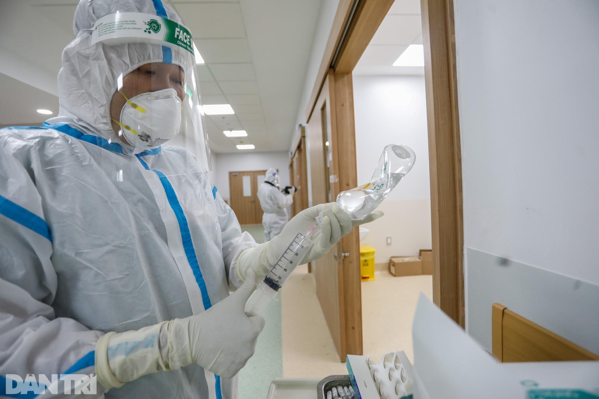Bên trong Bệnh viện Hồi sức Covid-19 quy mô 1.000 giường ở TPHCM - 7