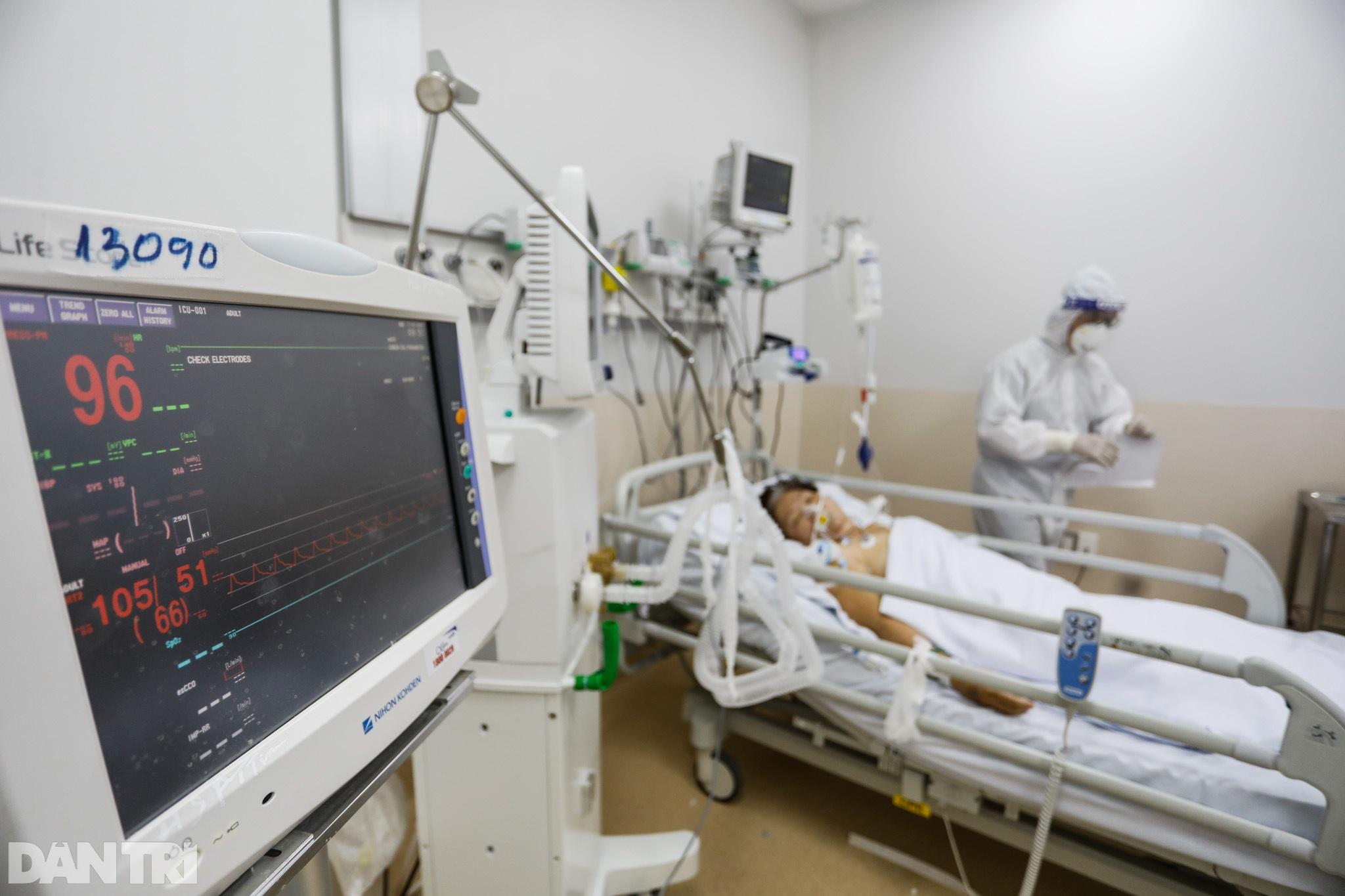 Bên trong Bệnh viện Hồi sức Covid-19 quy mô 1.000 giường ở TPHCM - 10