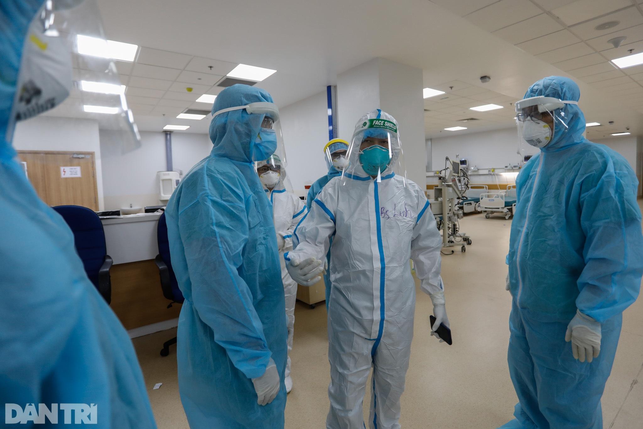 Bên trong Bệnh viện Hồi sức Covid-19 quy mô 1.000 giường ở TPHCM - 15