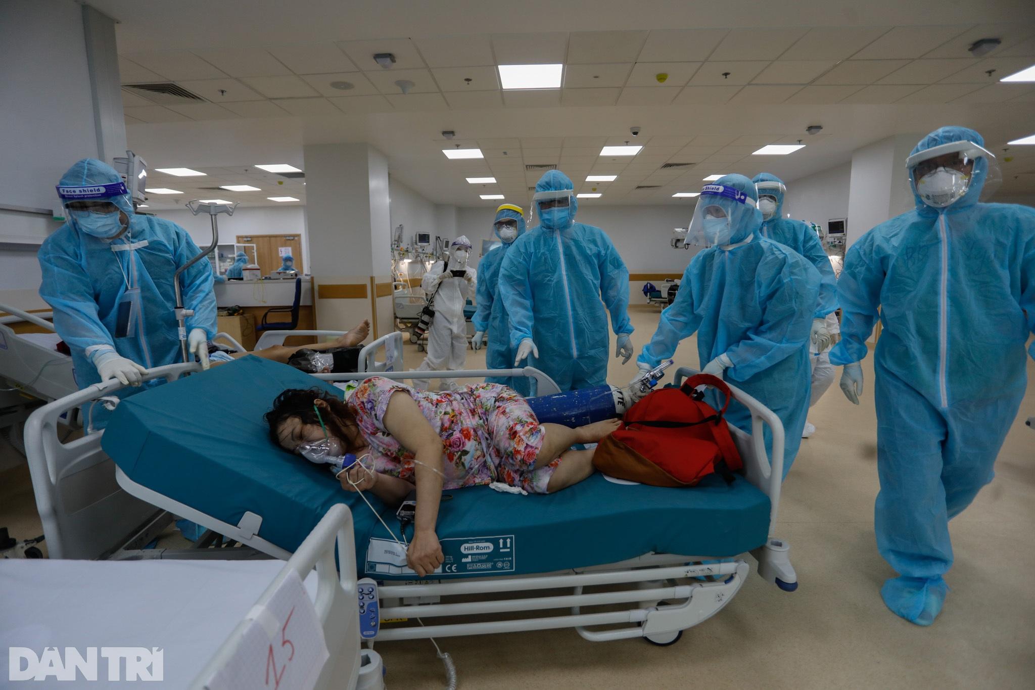 Bên trong Bệnh viện Hồi sức Covid-19 quy mô 1.000 giường ở TPHCM - 8