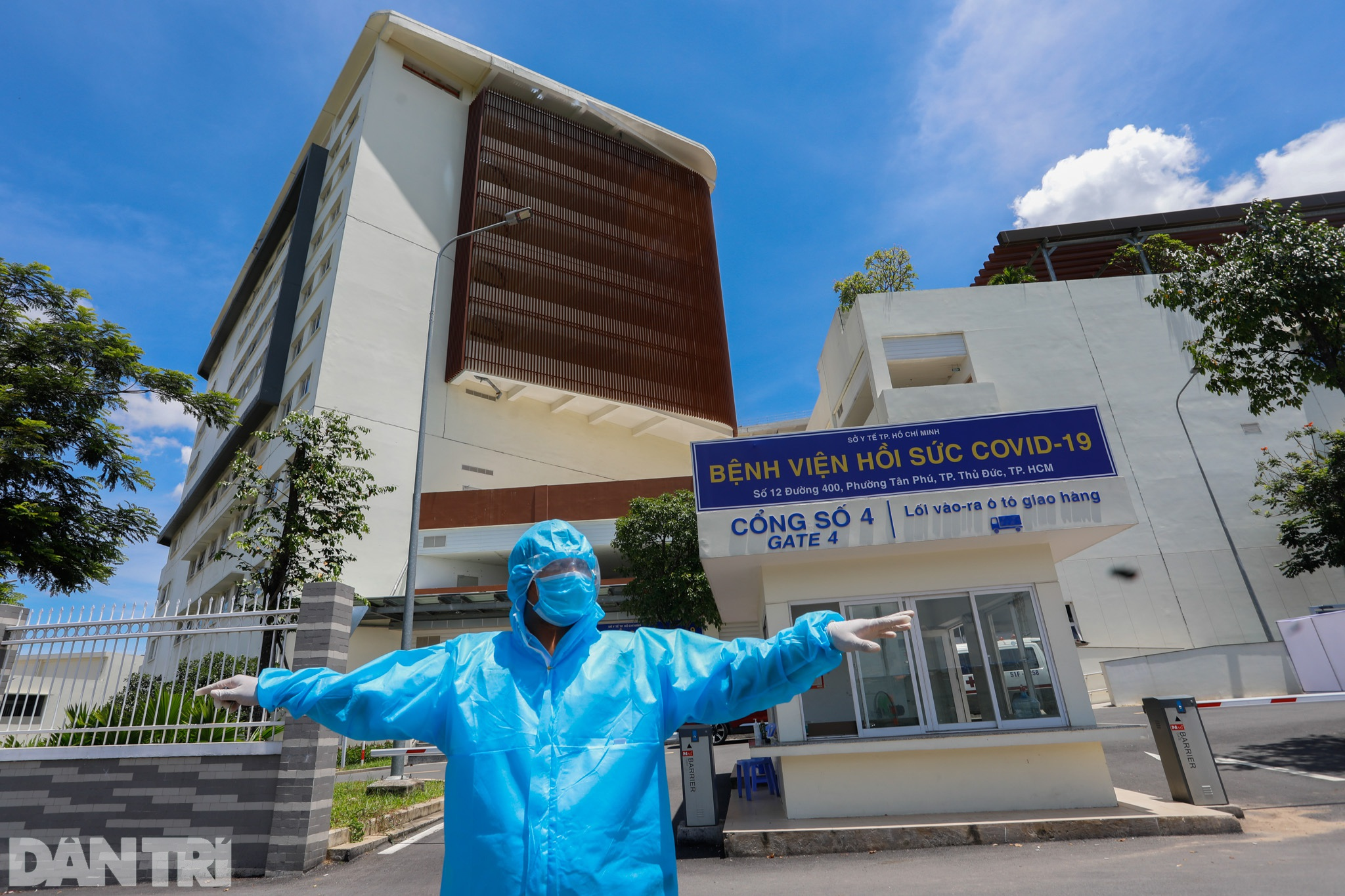 Bên trong Bệnh viện Hồi sức Covid-19 quy mô 1.000 giường ở TPHCM - 1