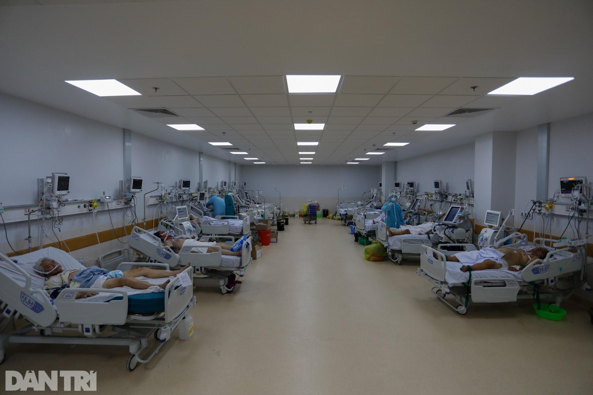 Bên trong Bệnh viện Hồi sức Covid-19 quy mô 1.000 giường ở TPHCM - 3