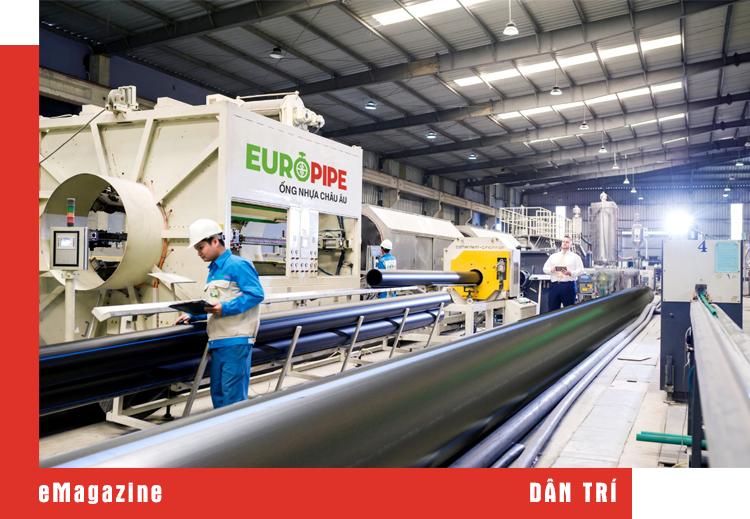 Tổng giám đốc doanh nghiệp ống nhựa hàng đầu Việt Nam: Chúng tôi là công ty duy nhất bảo hành sản phẩm 30 năm - 15