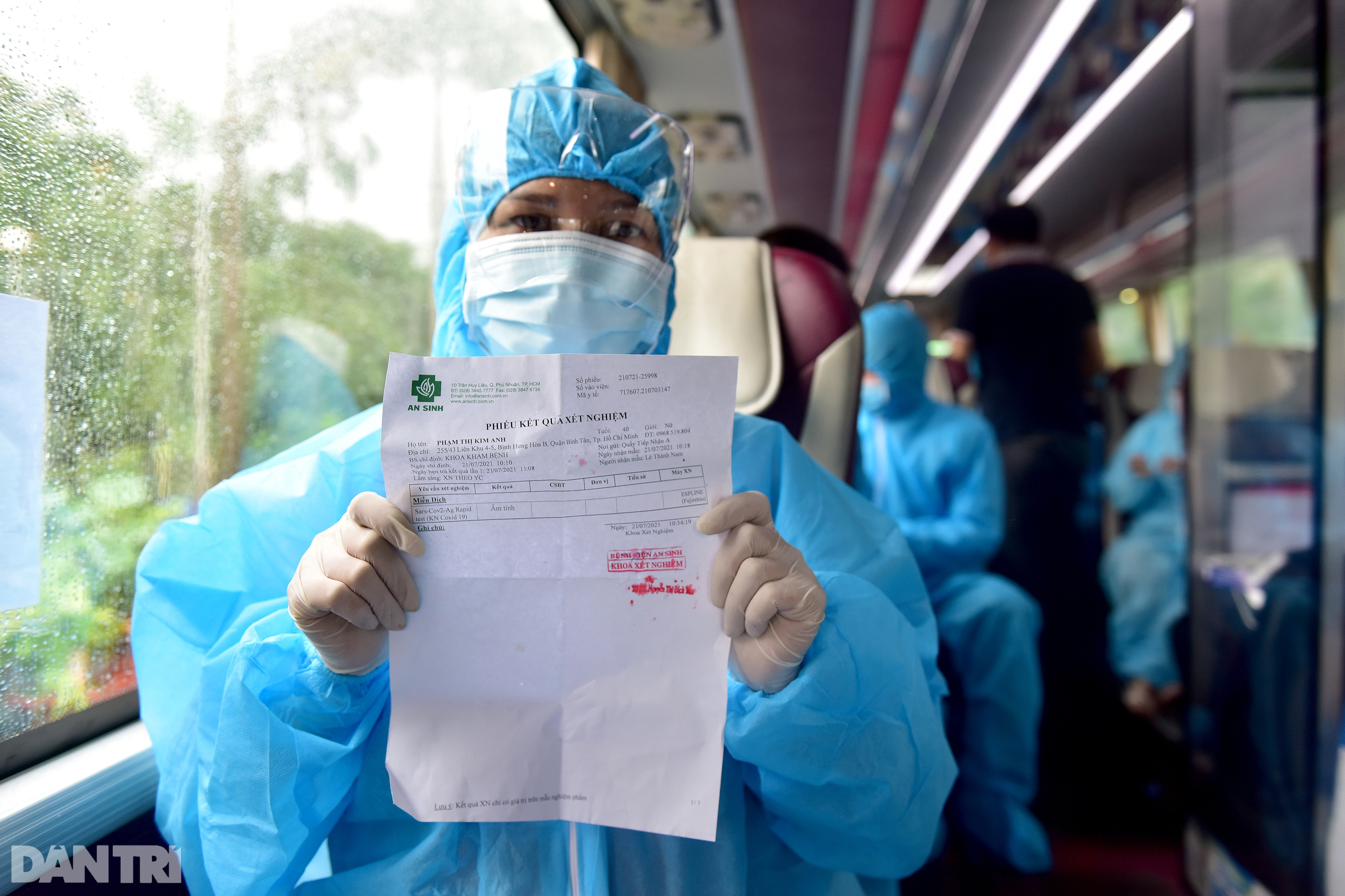 500 công dân Quảng Nam lên xe khách rời tâm dịch TPHCM trở về quê nhà - 6