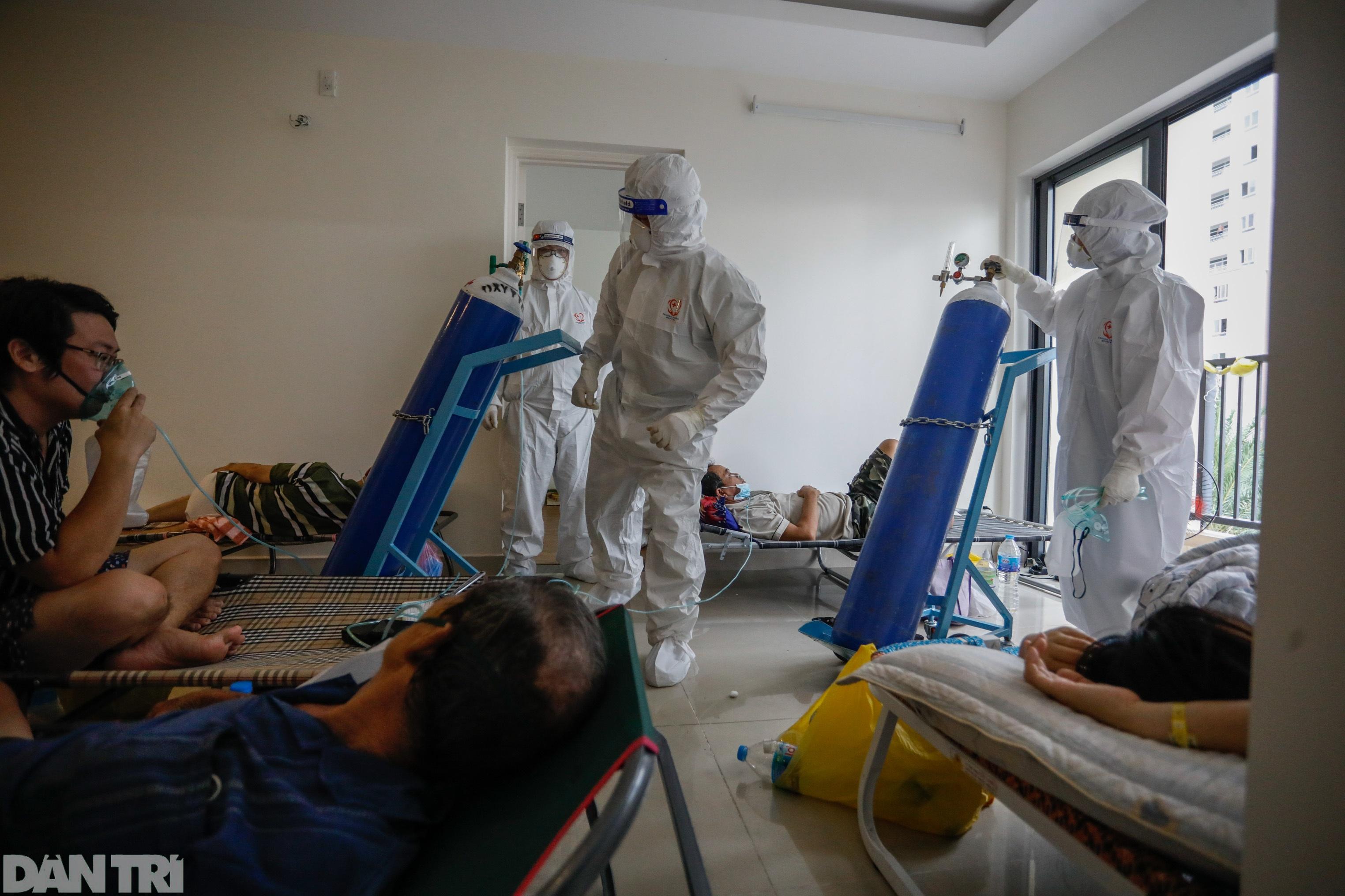 Bác sĩ sáng chế bình oxy đặc biệt giúp hàng trăm F0 vượt cửa tử - 11